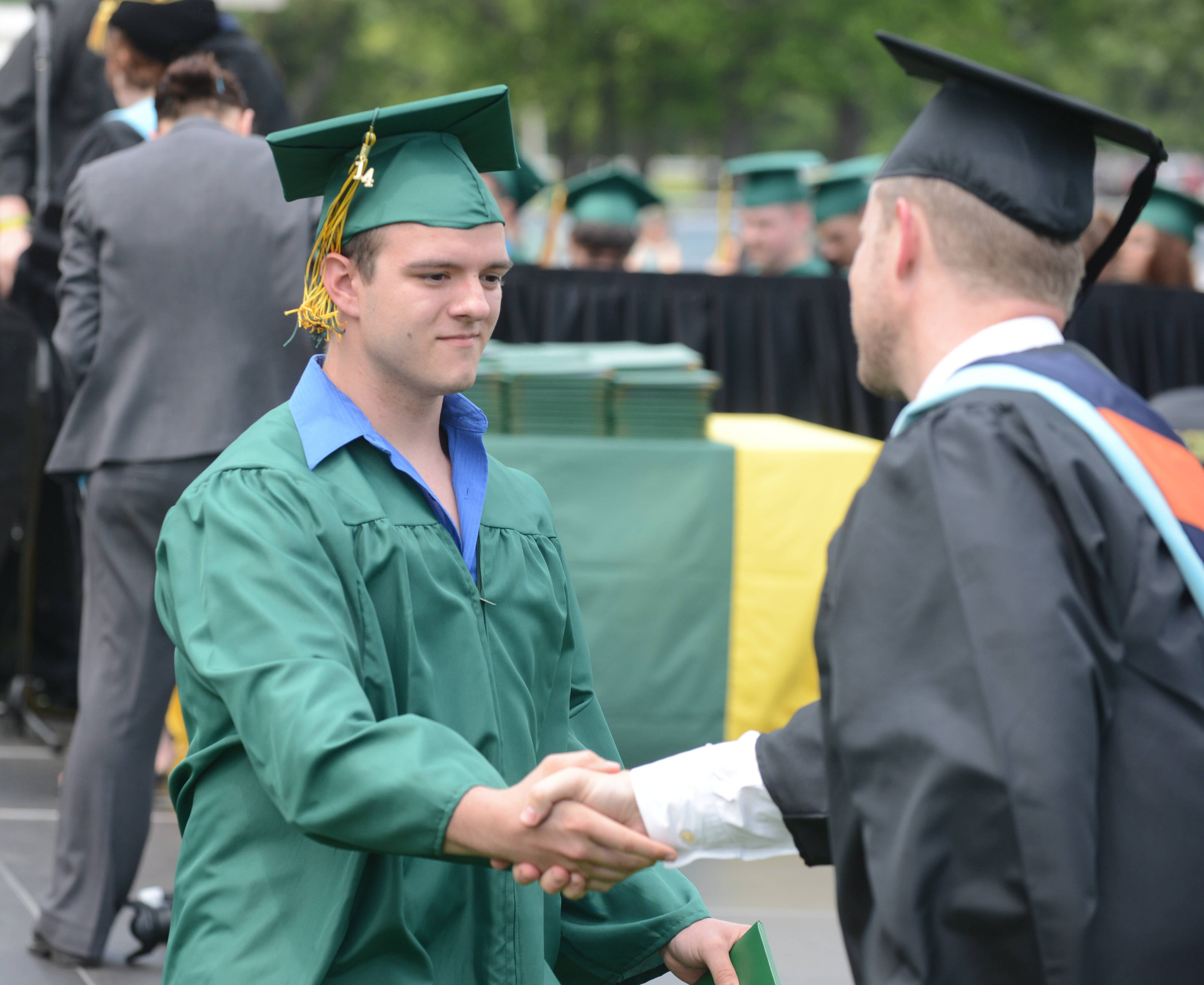 Photos from the Elk Grove High School graduation on Sunday, June 1, at the school.