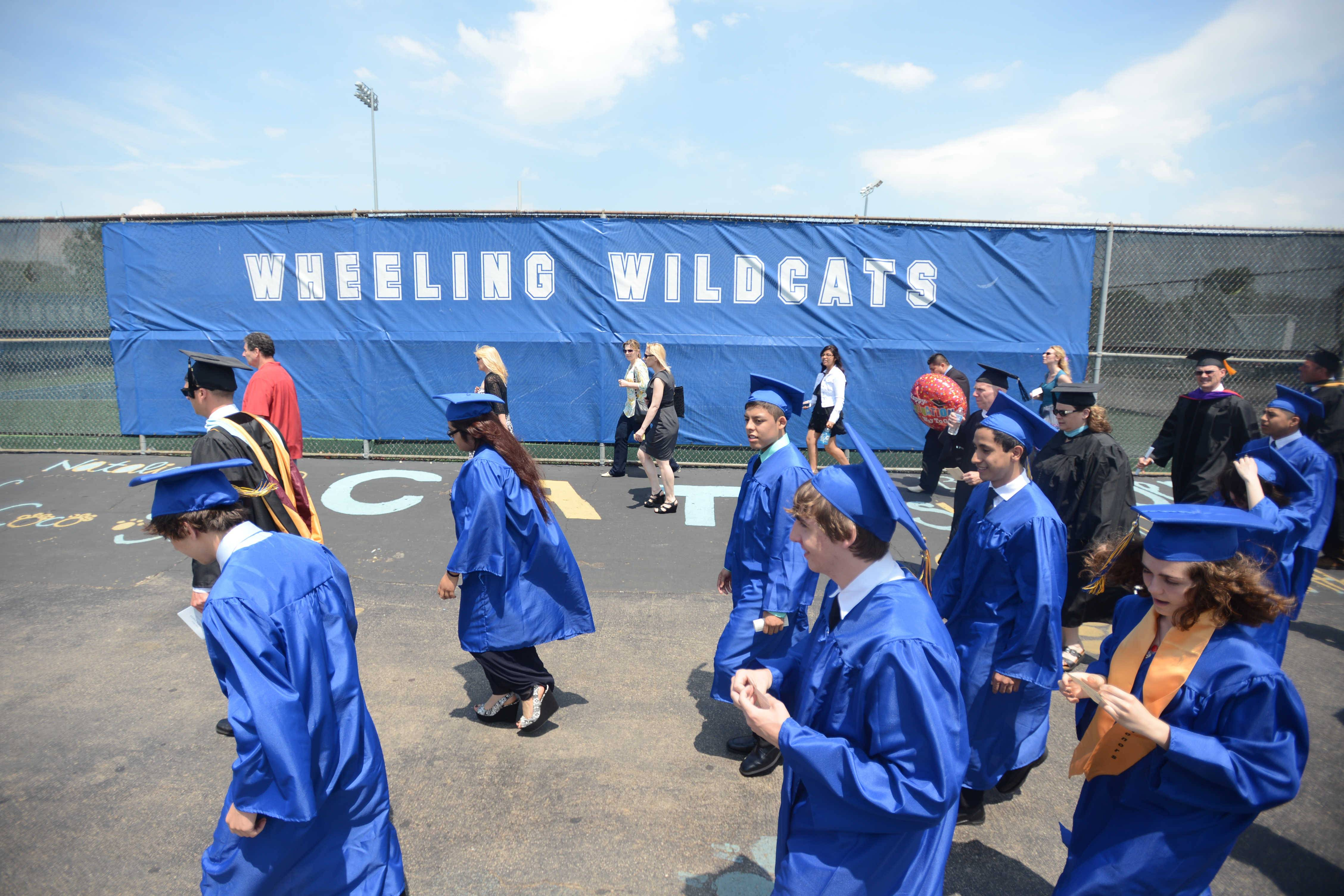 Photos from the Wheeling High School graduation on Sunday, June 1, at the school.
