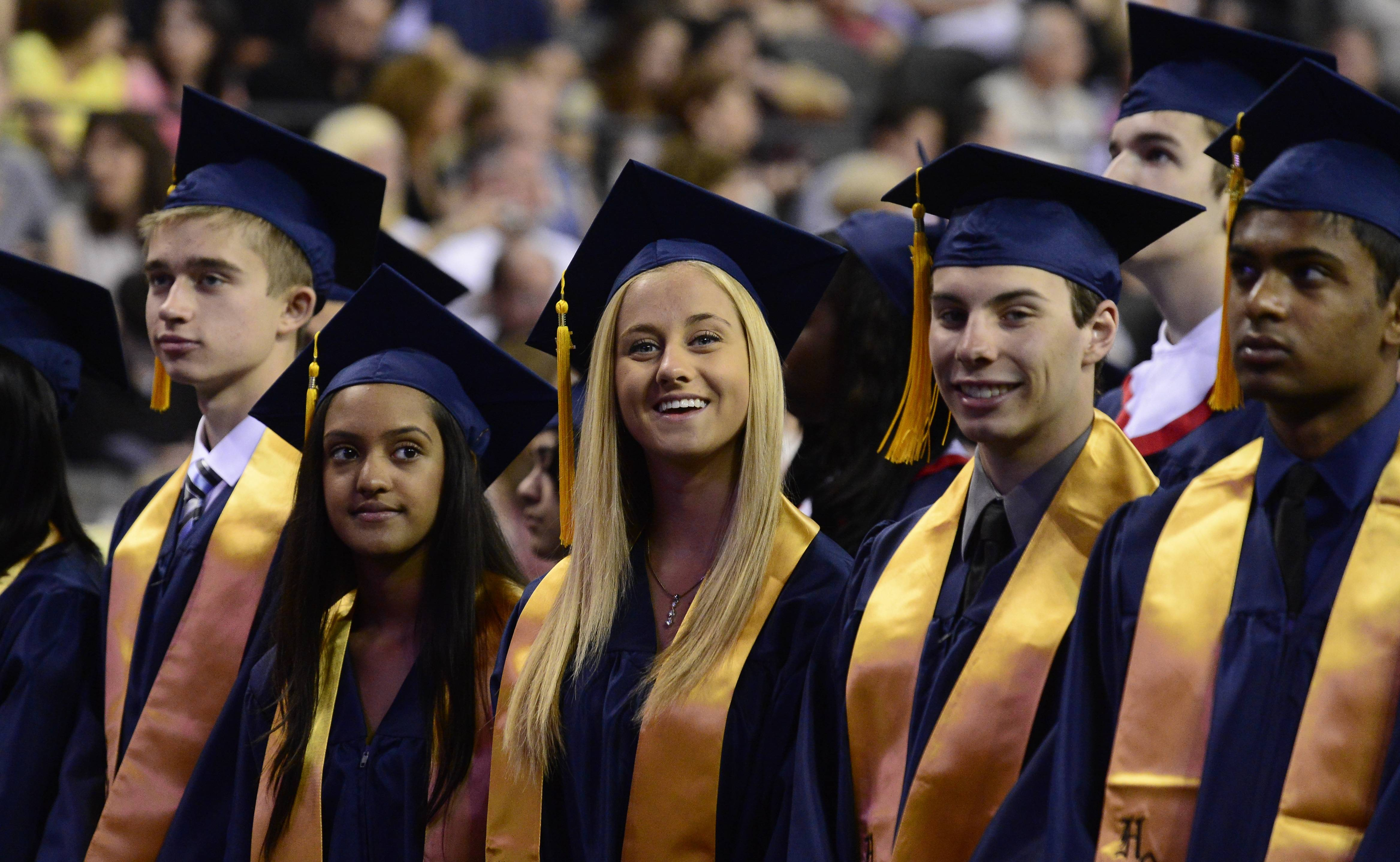 Photos from the Conant High School graduation on Sunday, June 1, at the Sears Centre.