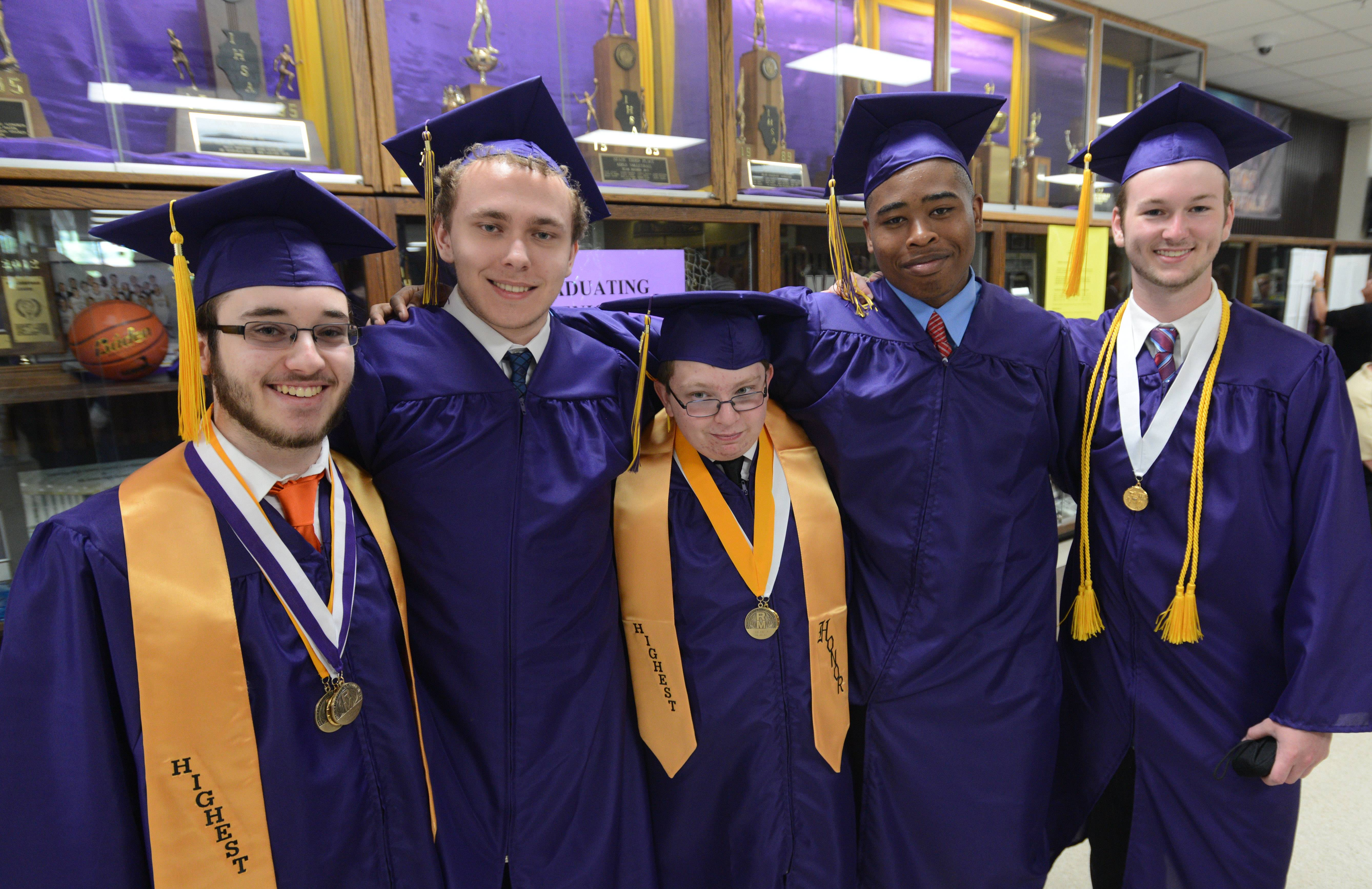 Photos from the Rolling Meadows High School graduation on Sunday, June 1, at the school.