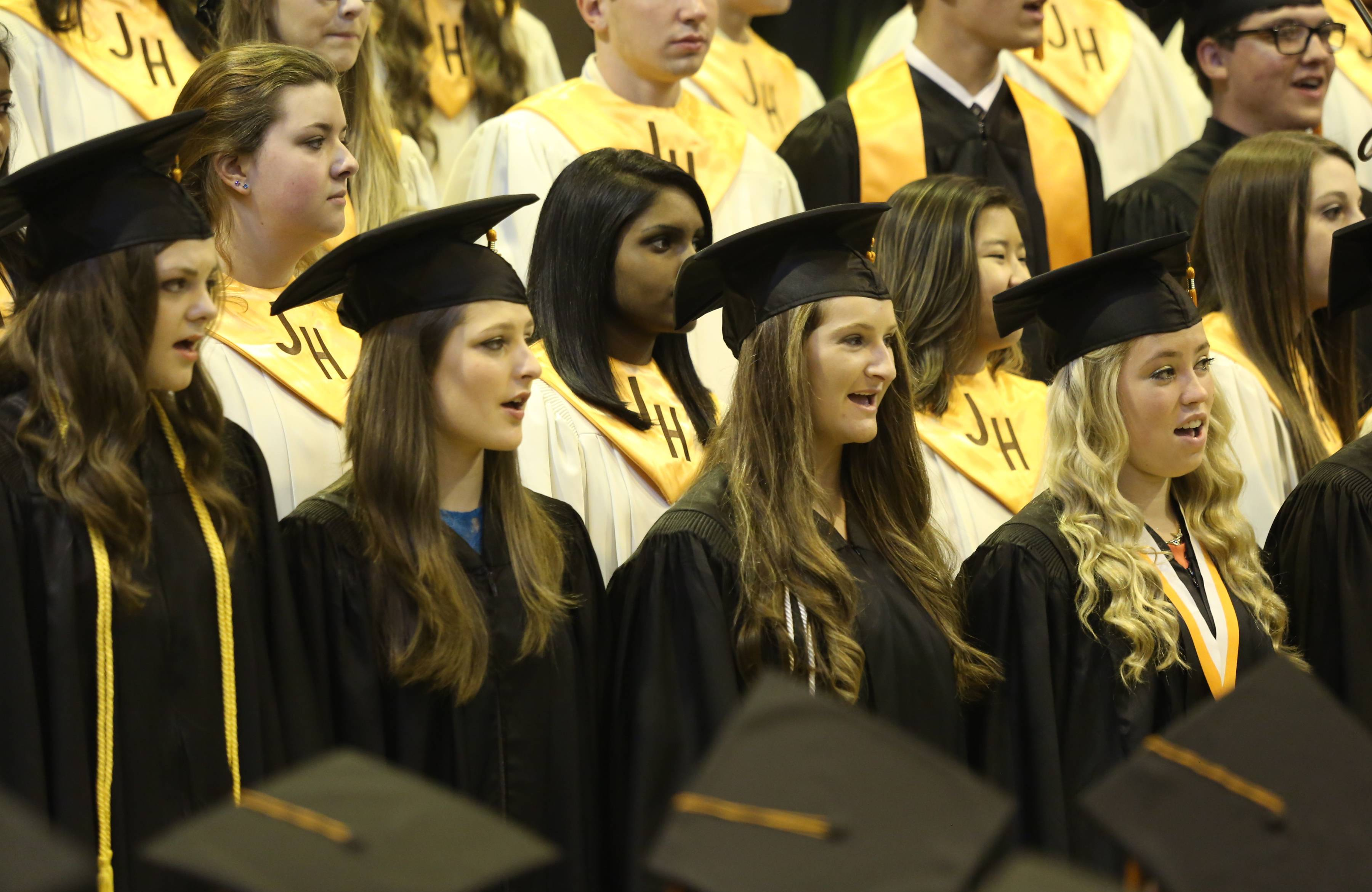 Photos from the Hersey High School graduation on Sunday, June 1, at the school.