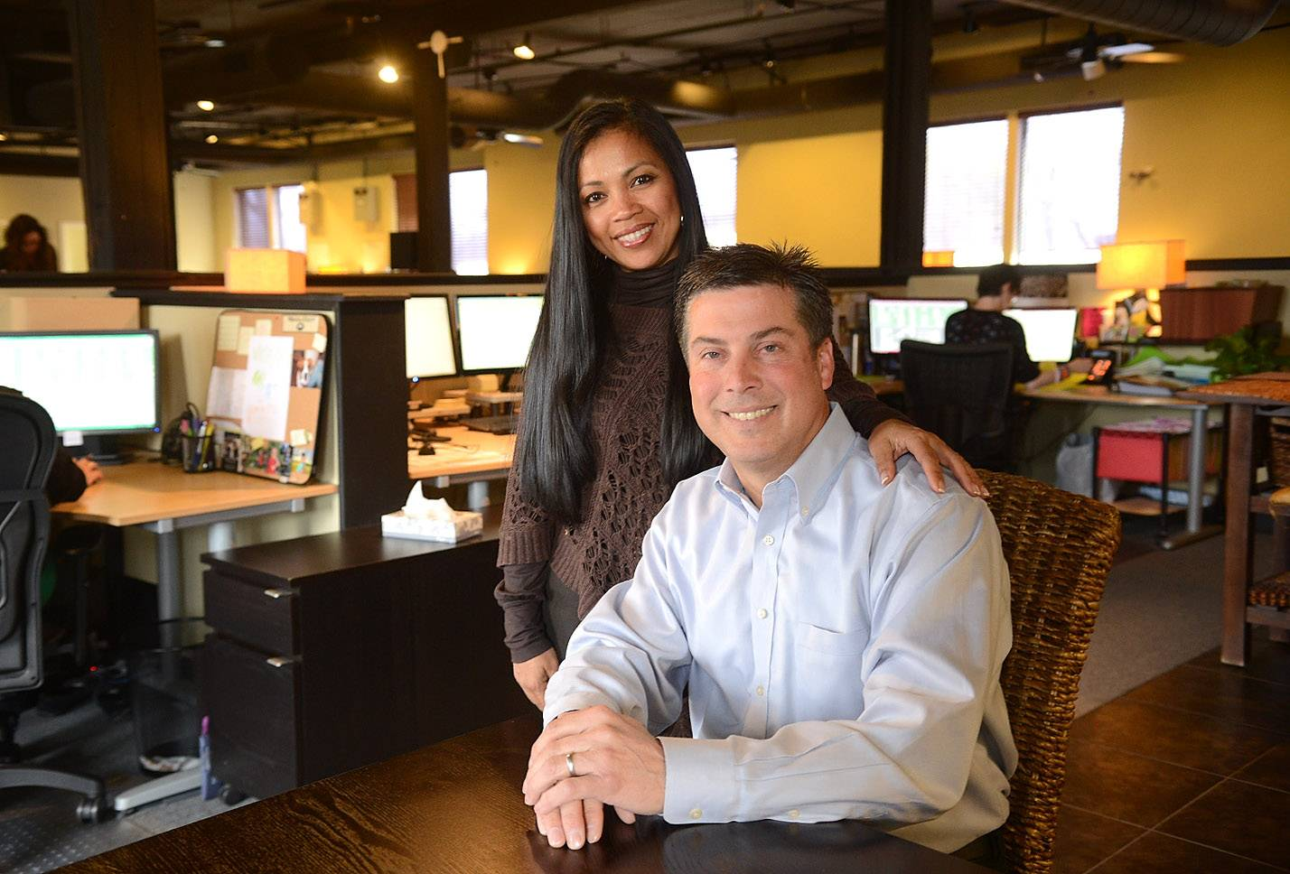 Rowena and Rob Zimmers founded ALE Solutions in St. Charles, the largest temporary housing placement company in the nation.