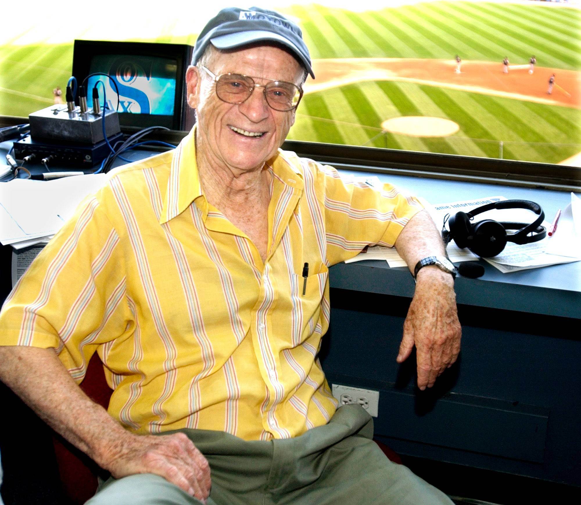Ernie Harwell, the voice of Detroit Tigers baseball, was one of the reasons Len Kasper wanted to become a baseball broadcaster. Kasper grew up listening to radio broadcasts by the legendary Harwell.