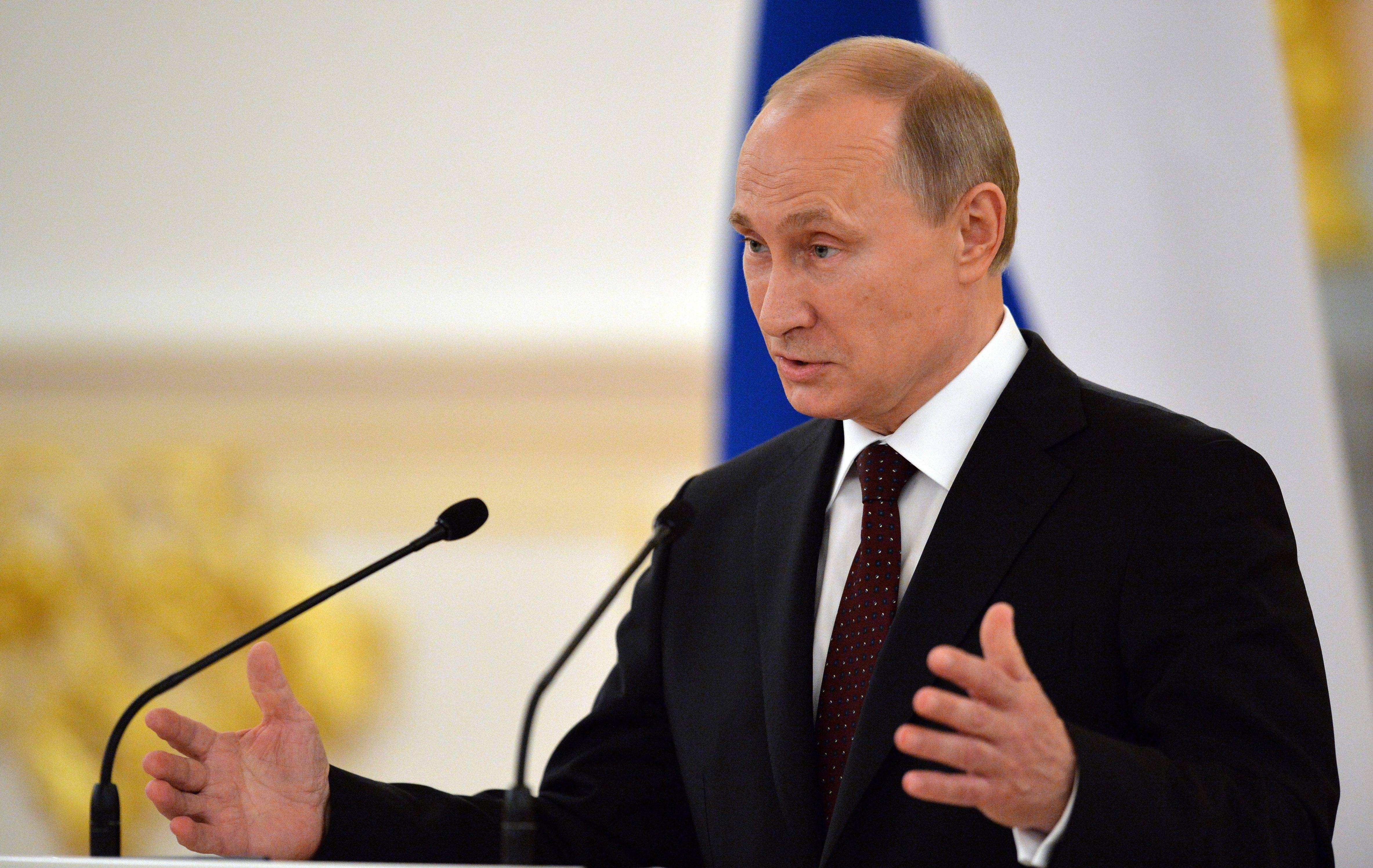 Vladimir Putin's territorial ambitions are bumping up against financial markets.