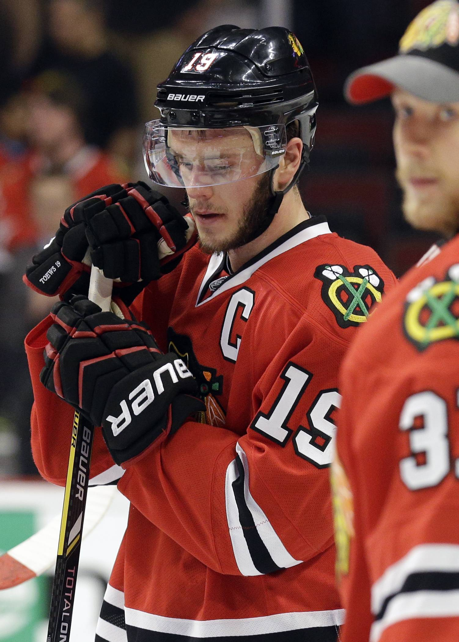 "Probably more than anyone, Blackhawks captain Jonathan Toews understands the opportunity lost in Game 7 overtime against the Los Angeles Kings. ""This is a very bad feeling,"" he said after the game. ""It's a bitter pill to swallow."""