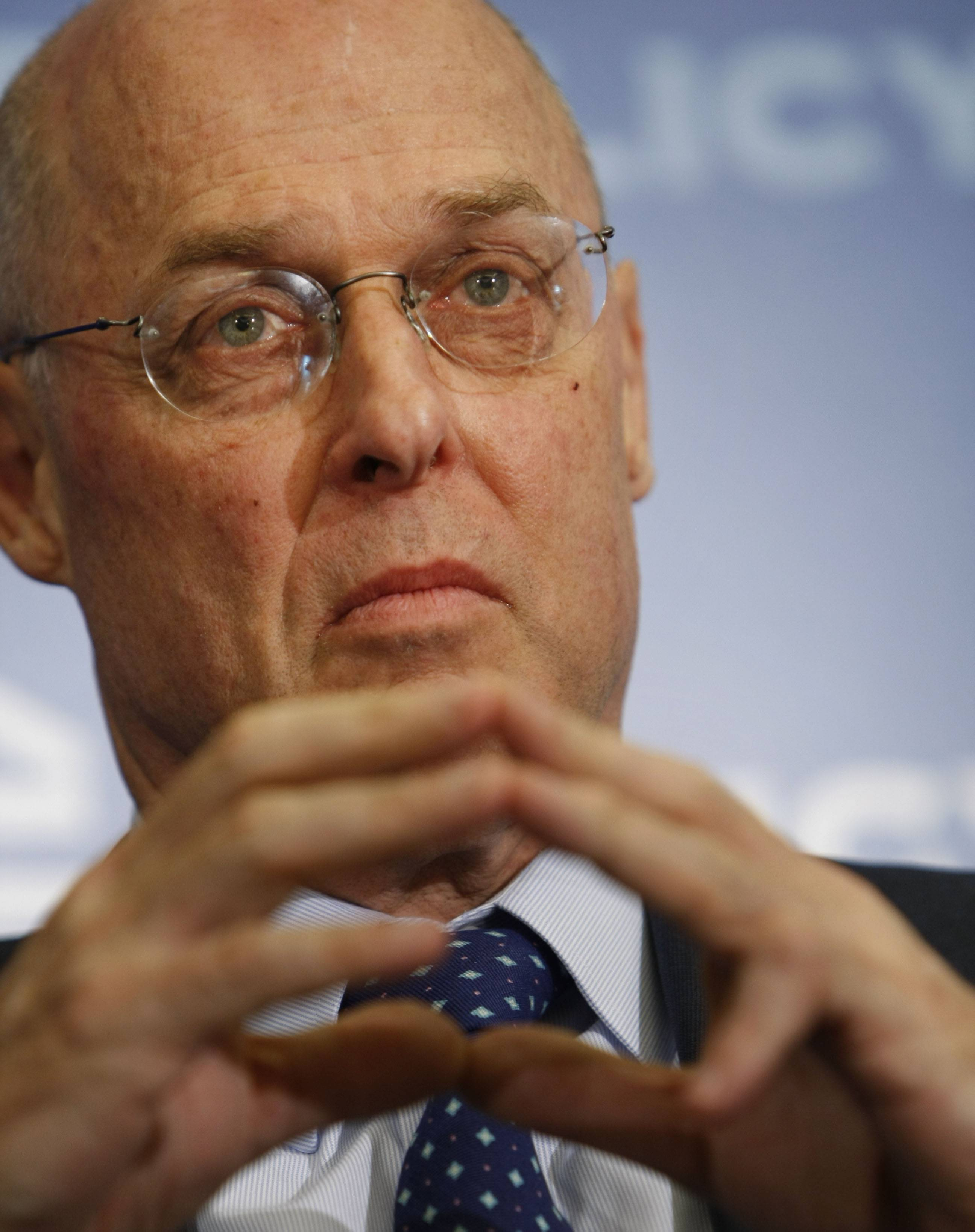 ASSOCIATED PRESS FILE PHOTOFormer Treasury Secretary Henry Paulson Jr.