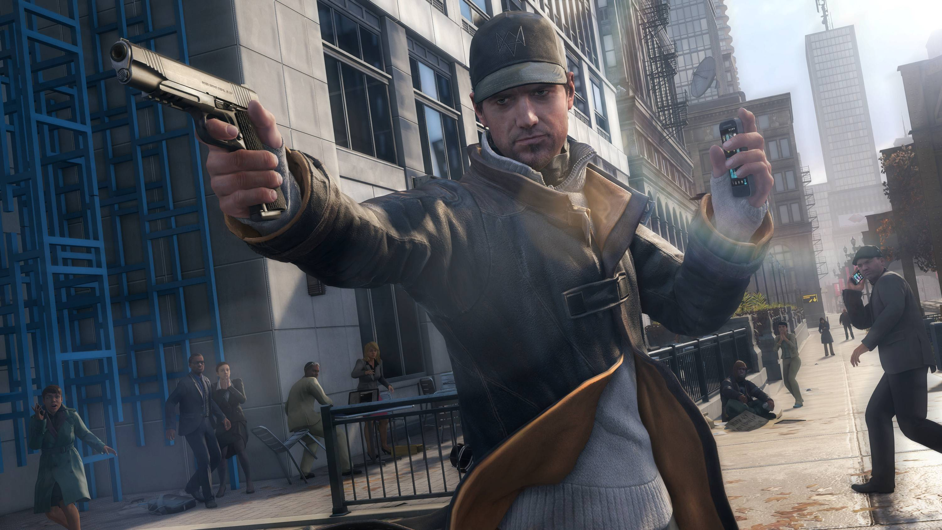 "In the open-world game ""Watch Dogs,"" Aiden Pearce is a tech-savvy vigilante whose most powerful weapon is a smartphone that can tap into the infrastructure of a well-connected, near-future Chicago."
