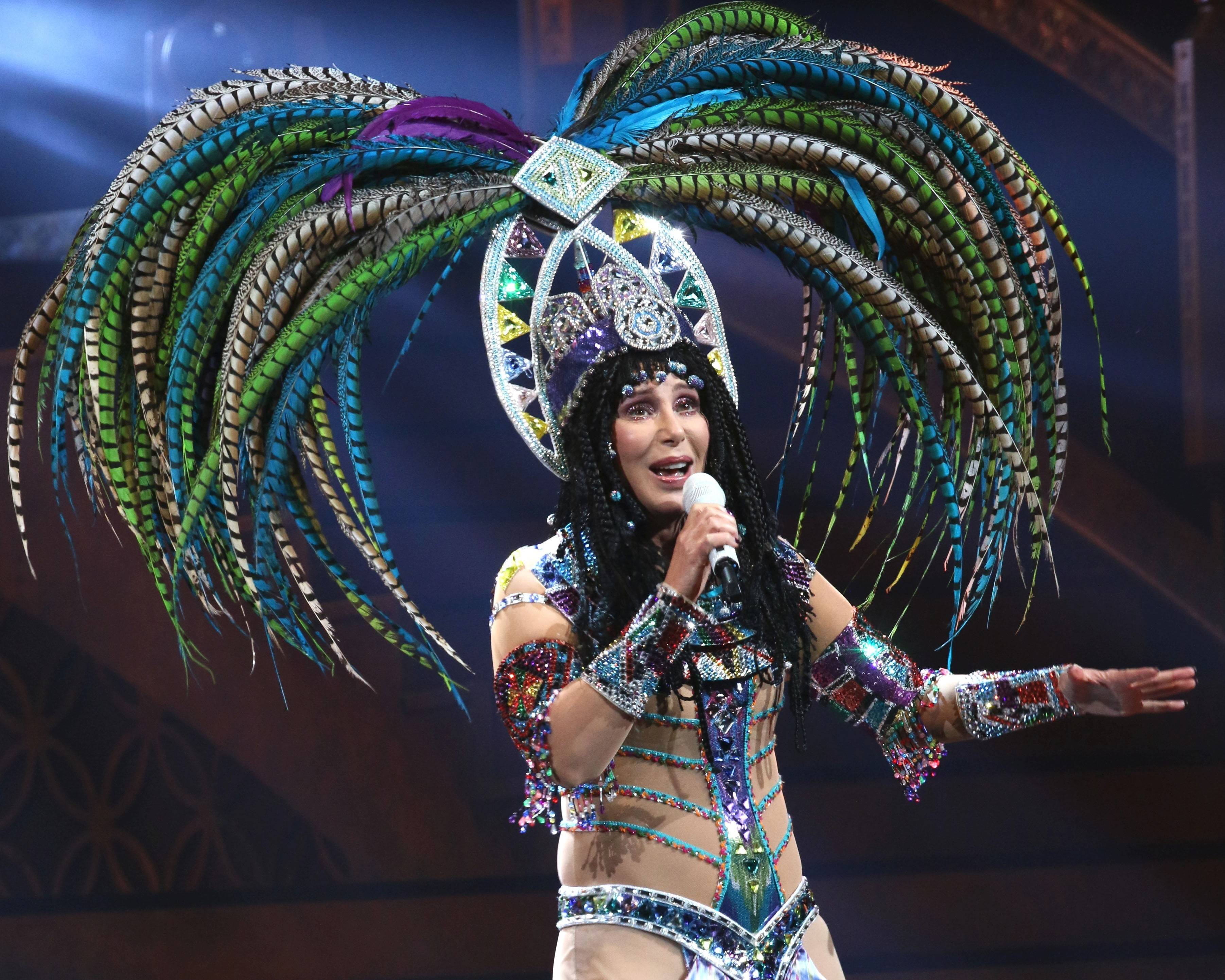 Cher brings her Dress to Kill Tour (D2K) with opening act Cyndi Lauper to the Allstate Arena in Rosemont at 8 p.m. on Saturday, June 7.