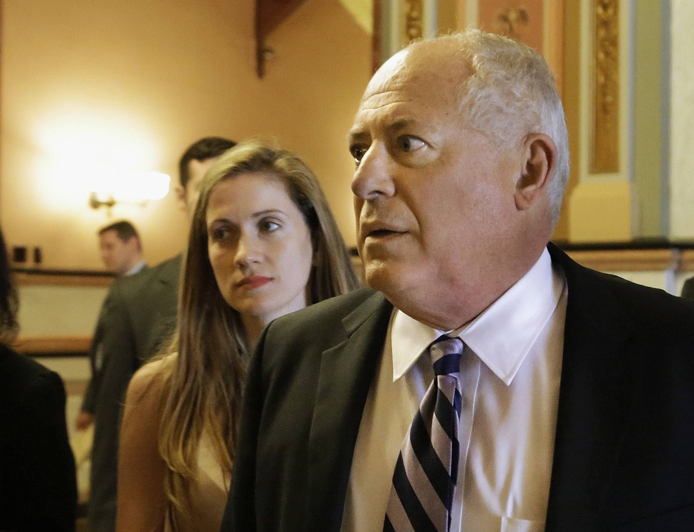 Gov. Pat Quinn told reporters Tuesday he is not done working on a state budget.