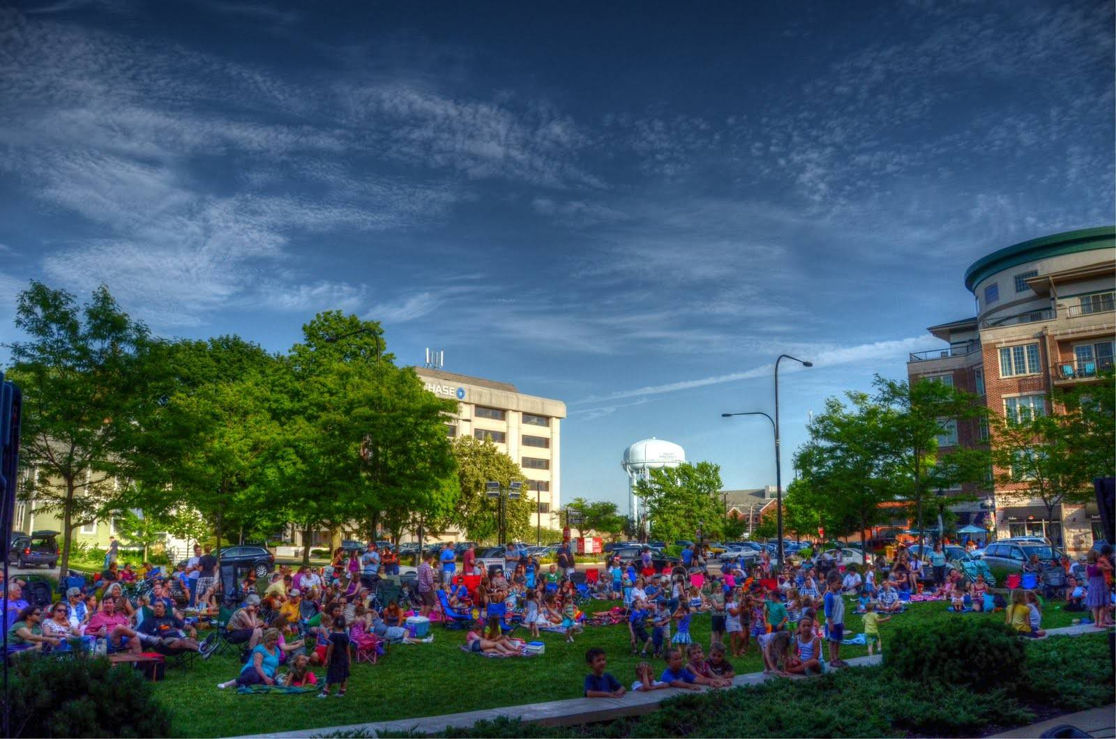 Mount Prospect concerts on the village green return this weekend.