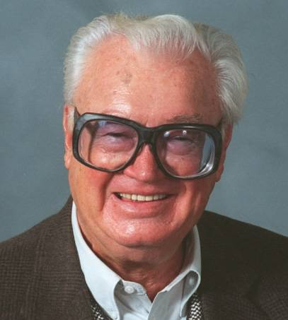 Harry Caray in 1993