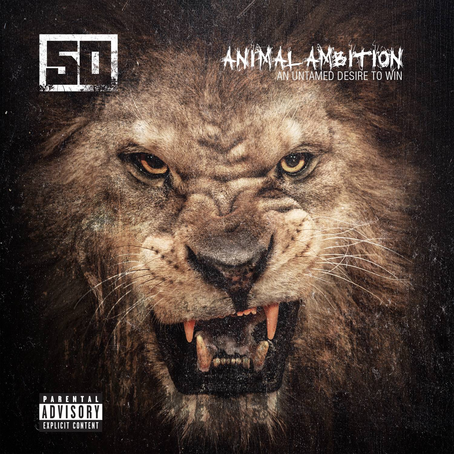 "This CD cover image released by Capitol Records shows ""Animal Ambition: An Untamed Desire to Win,"" a new release by 50 Cent."