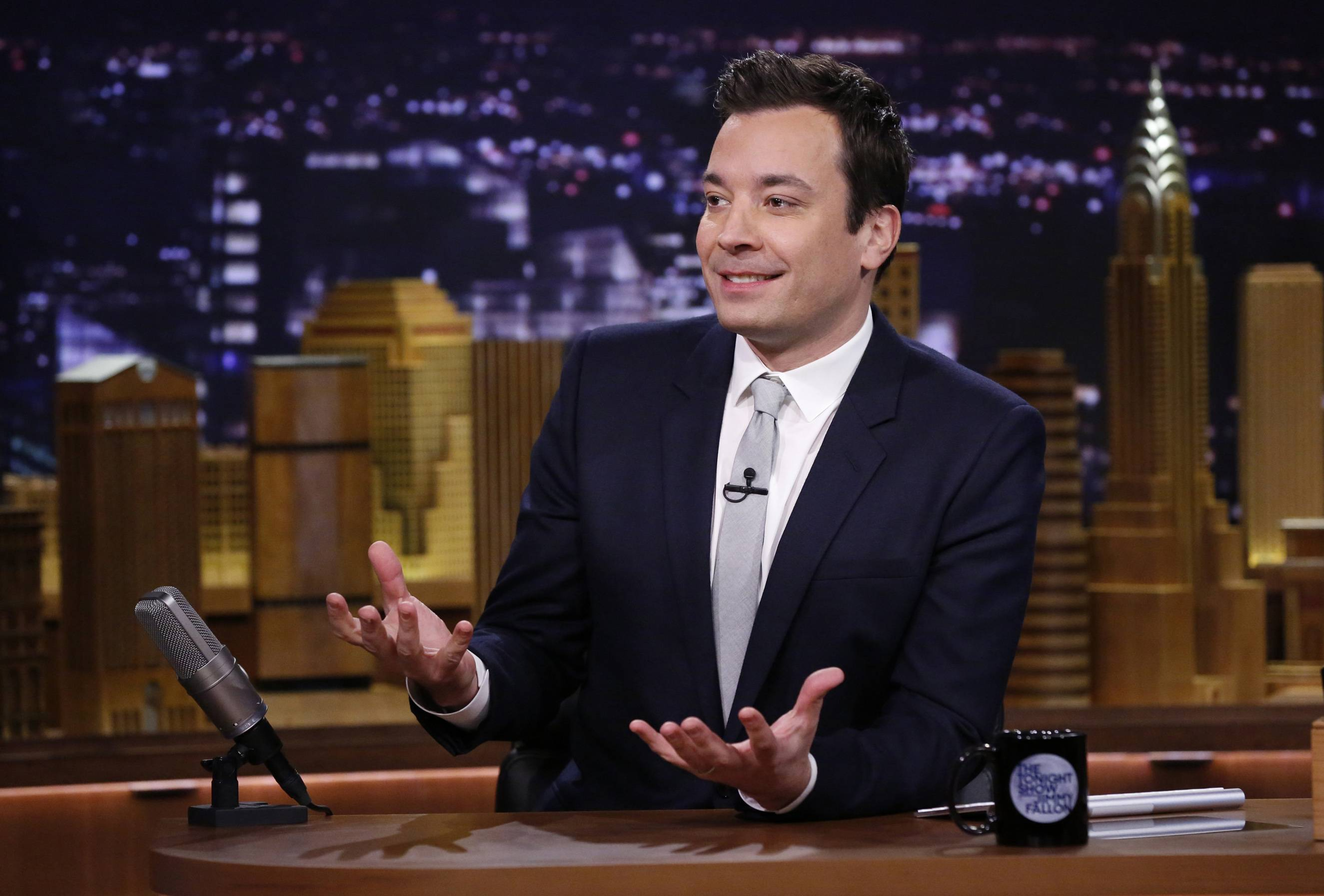 "During Chicago Mayor Rahm Emanuel's appearance Tuesday on NBC's ""Tonight Show,"" Fallon agreed to bring his production to Chicago for a few shows if Chicago Public School students read 2.4 million books this summer."