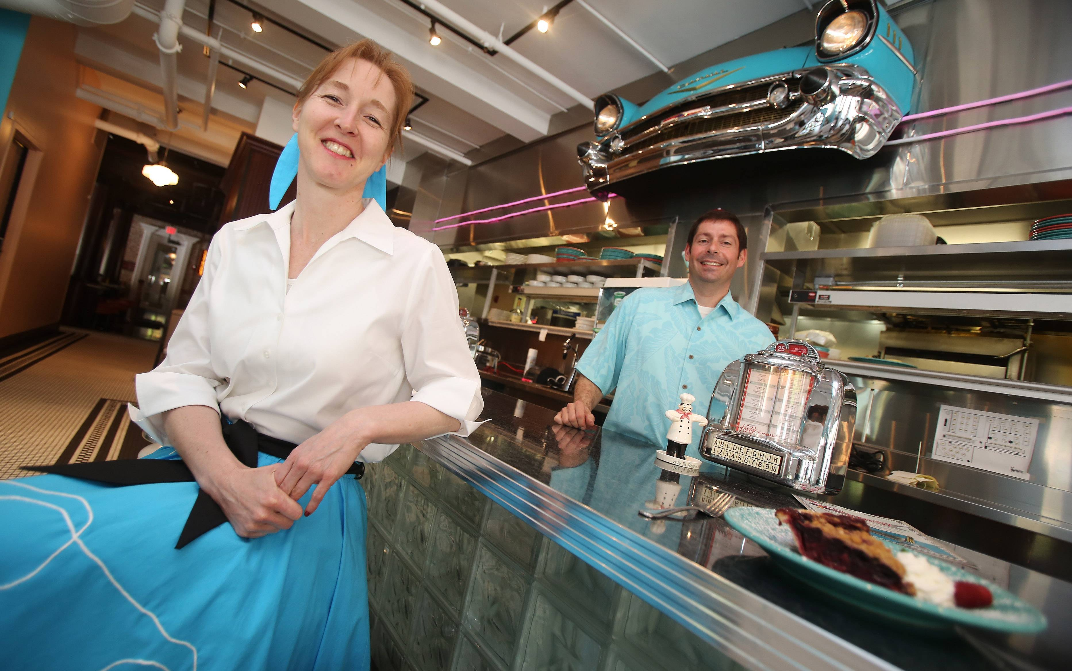 Circa 57 diner in Arlington Heights is owned by Kimberly and Anthony Priola.