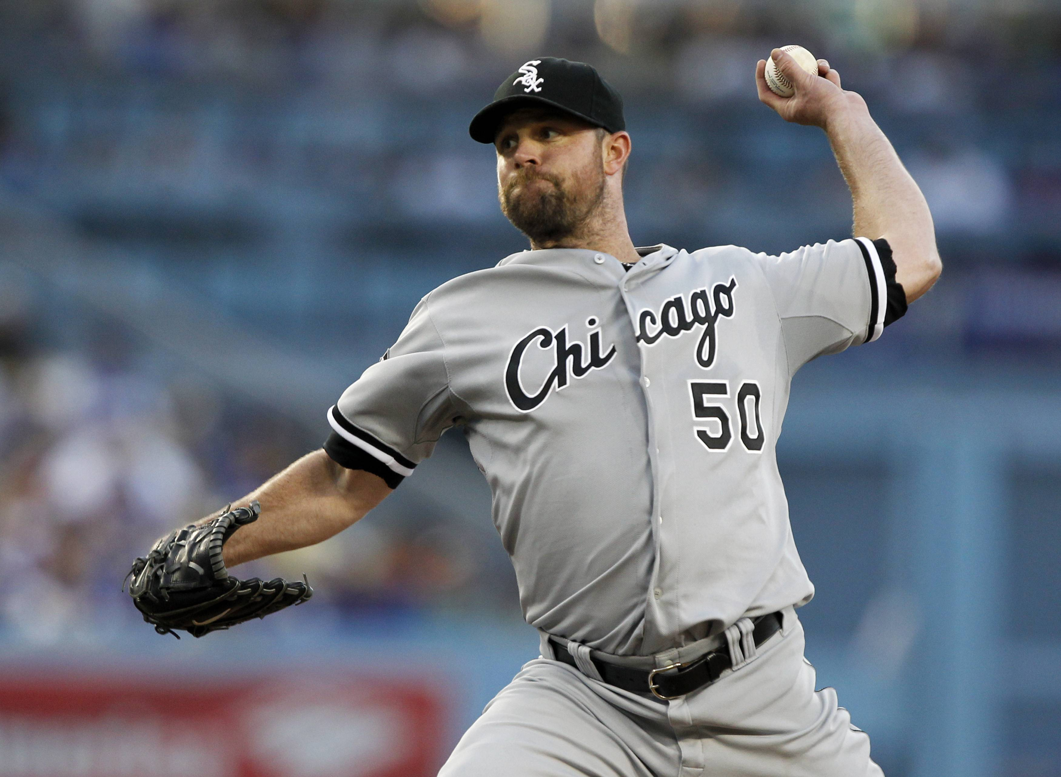 In Wednesday night's 2-1 victory over the Dodgers in Los Angeles, starting pitcher John Danks continued to make positive strides, allowing only 1 run on 2 hits in 7⅓ innings. Still, the Sox will likely look to today's MLB draft to fill the pitching void.