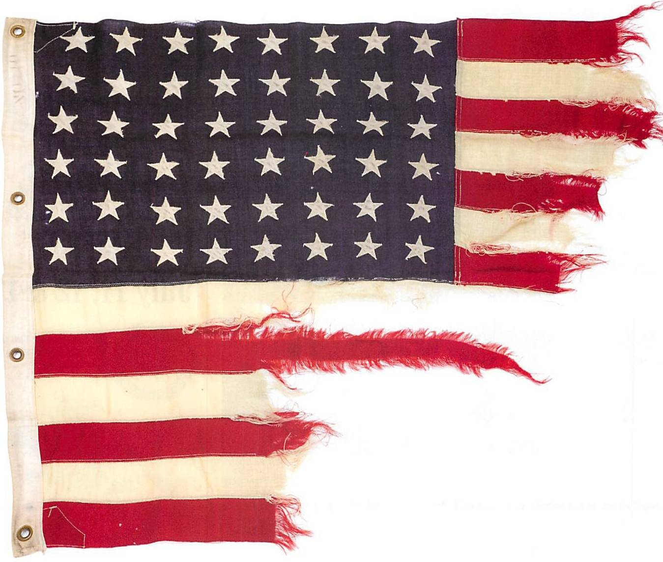 D-Day ship's U.S. flag sells for $350,000 at auction