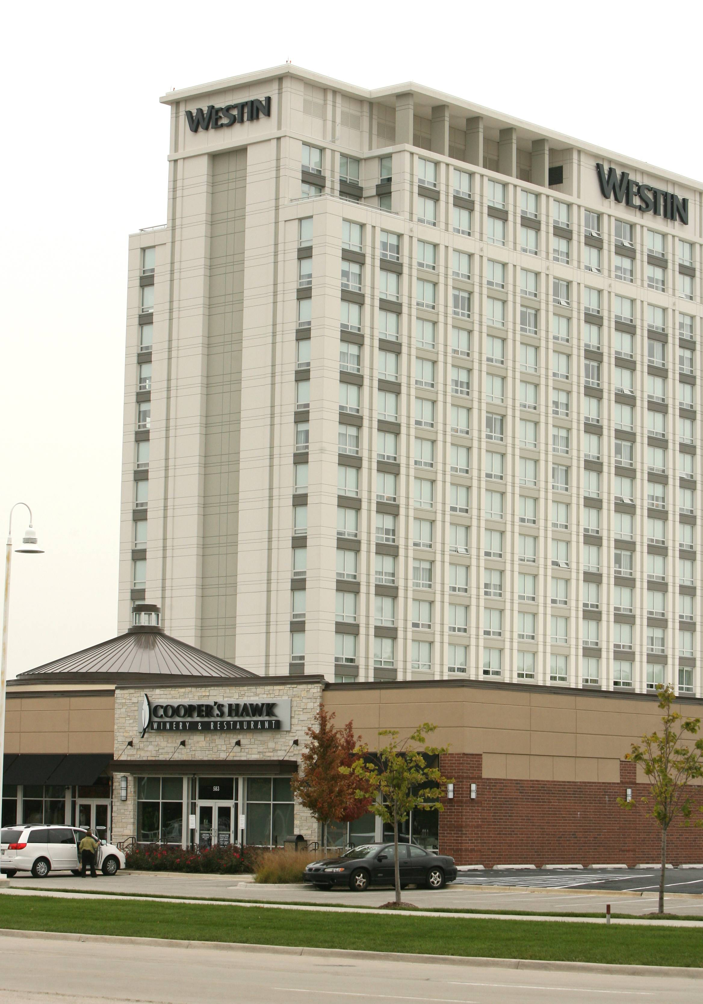 At the urging of the Westin Chicago North Shore Hotel, Wheeling officials are considering possible membership in the North Shore Convention & Visitor's Bureau. Membership would cost the village $70,000 in annual dues, plus a one-time $35,000 initiation fee.