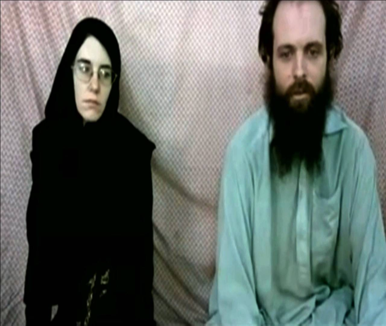 Families release video plea of couple in Afghanistan