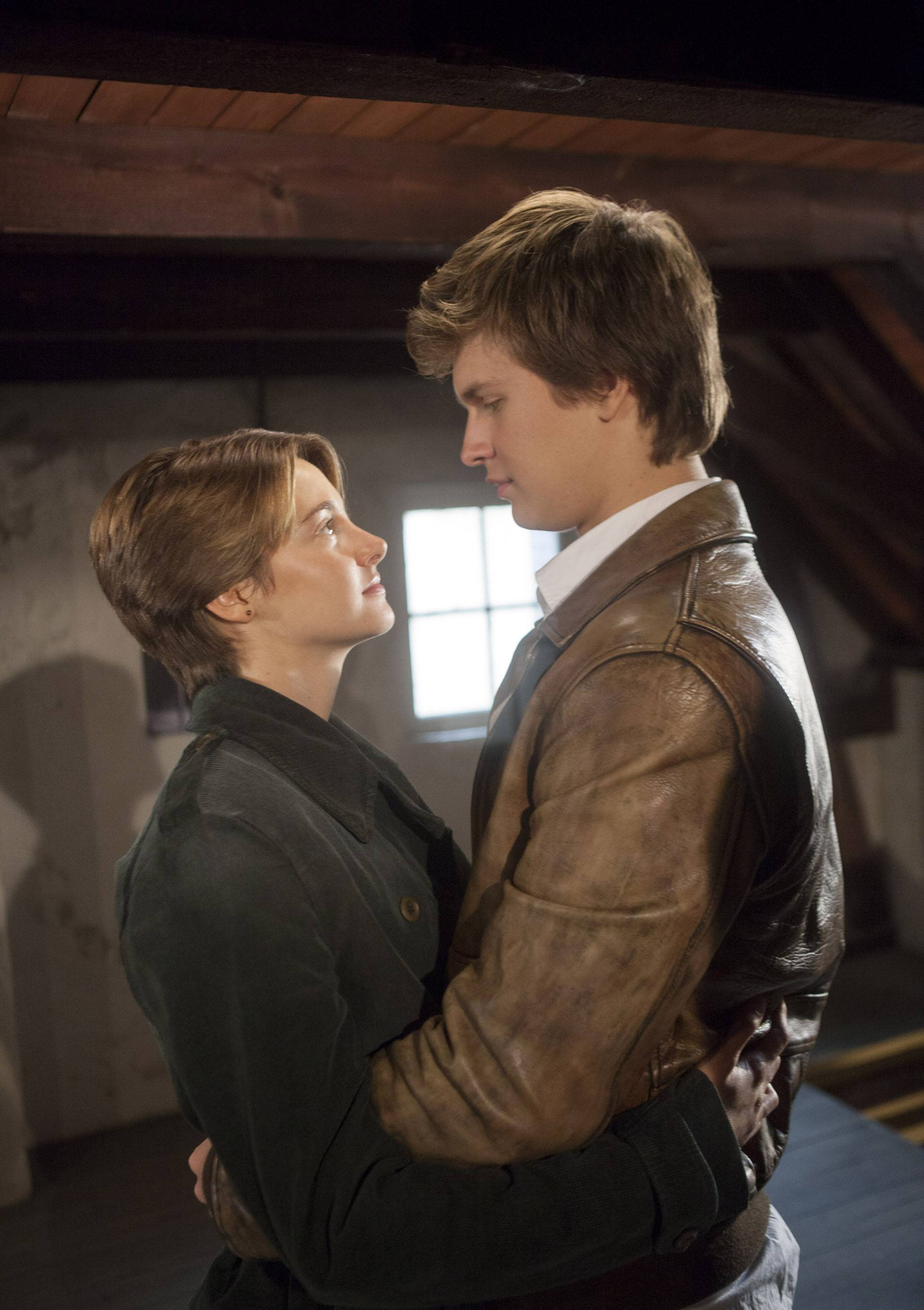"Performances by Shailene Woodley, right, and Ansel Elgort make ""The Fault In Our Stars"" ring mostly true."