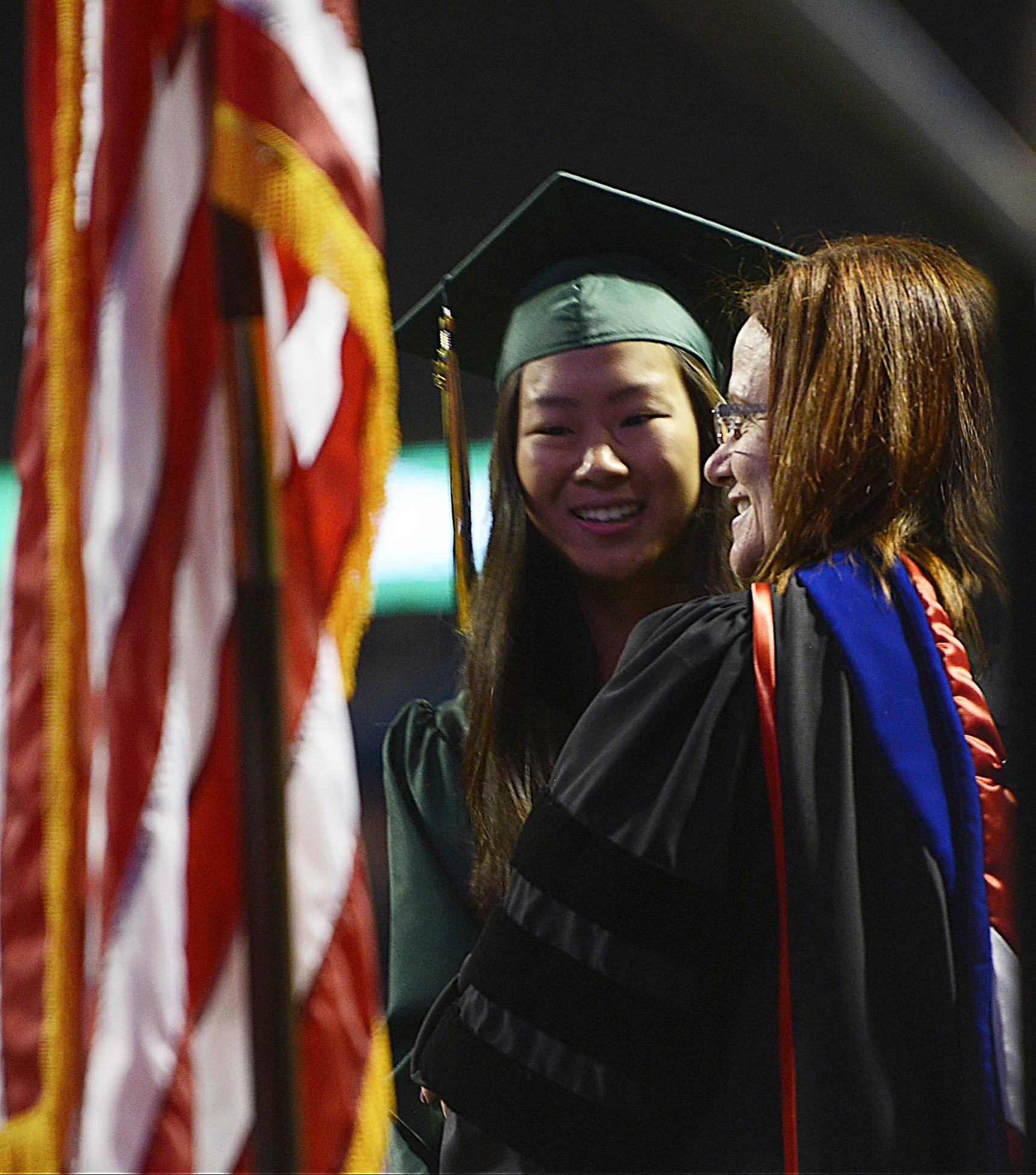 Images from the Stevenson High School graduation on Thursday, June 5 at the Sears Centre in Hoffman Estates.