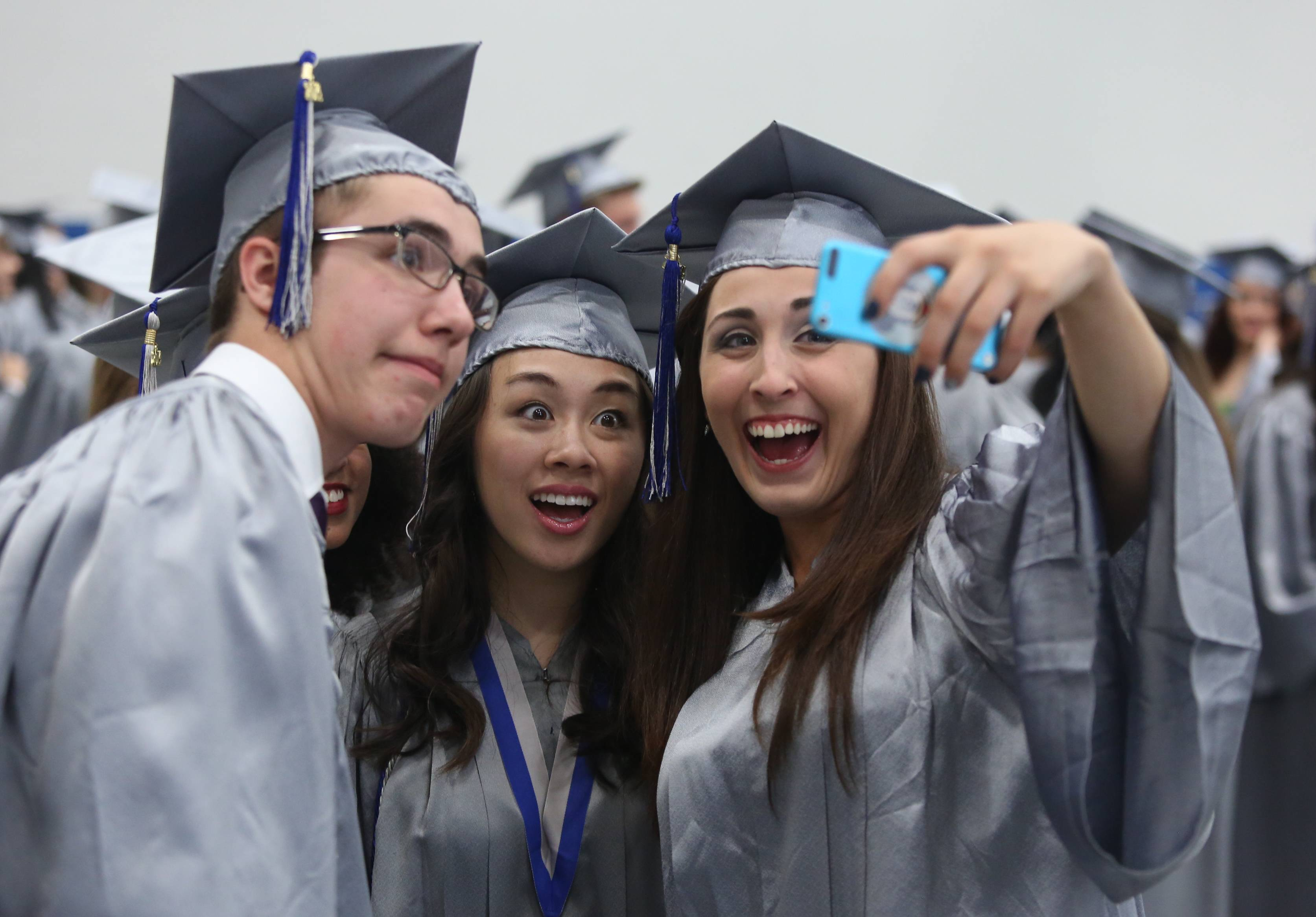 Images from the Vernon Hills High School graduation on Thursday, June 5 at the school in Vernon Hills.