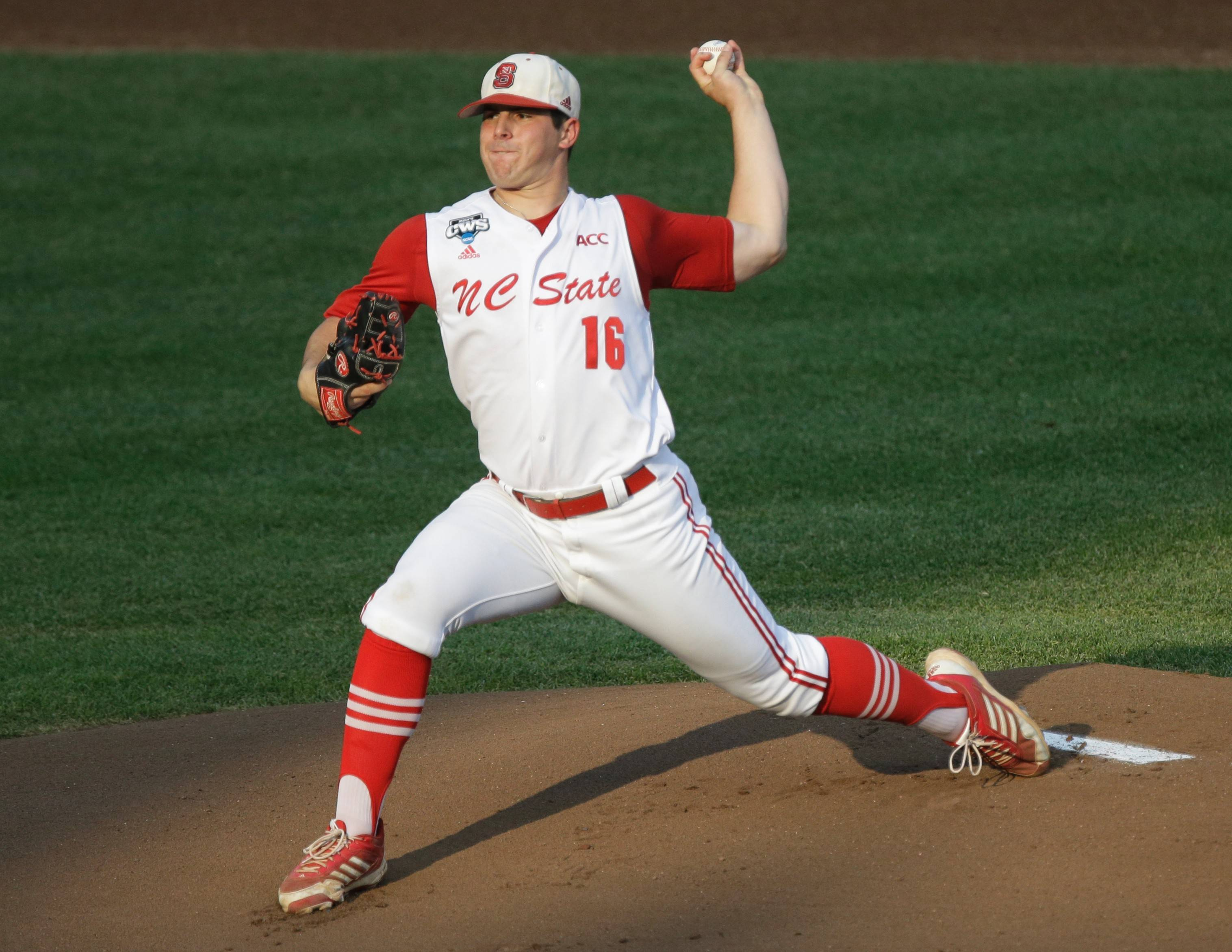 North Carolina State pitcher Carlos Rodon was selected by the White Sox with the third overall pick in the amateur draft Thursday.