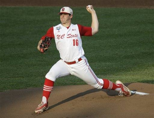 The White Sox selected North Carolina State left-hander Carlos Rodon with the third overall pick. The 6-3, 235-pound junior was widely regarded as the top college pitcher available in the draft and had been in the mix to go No. 1 overall.