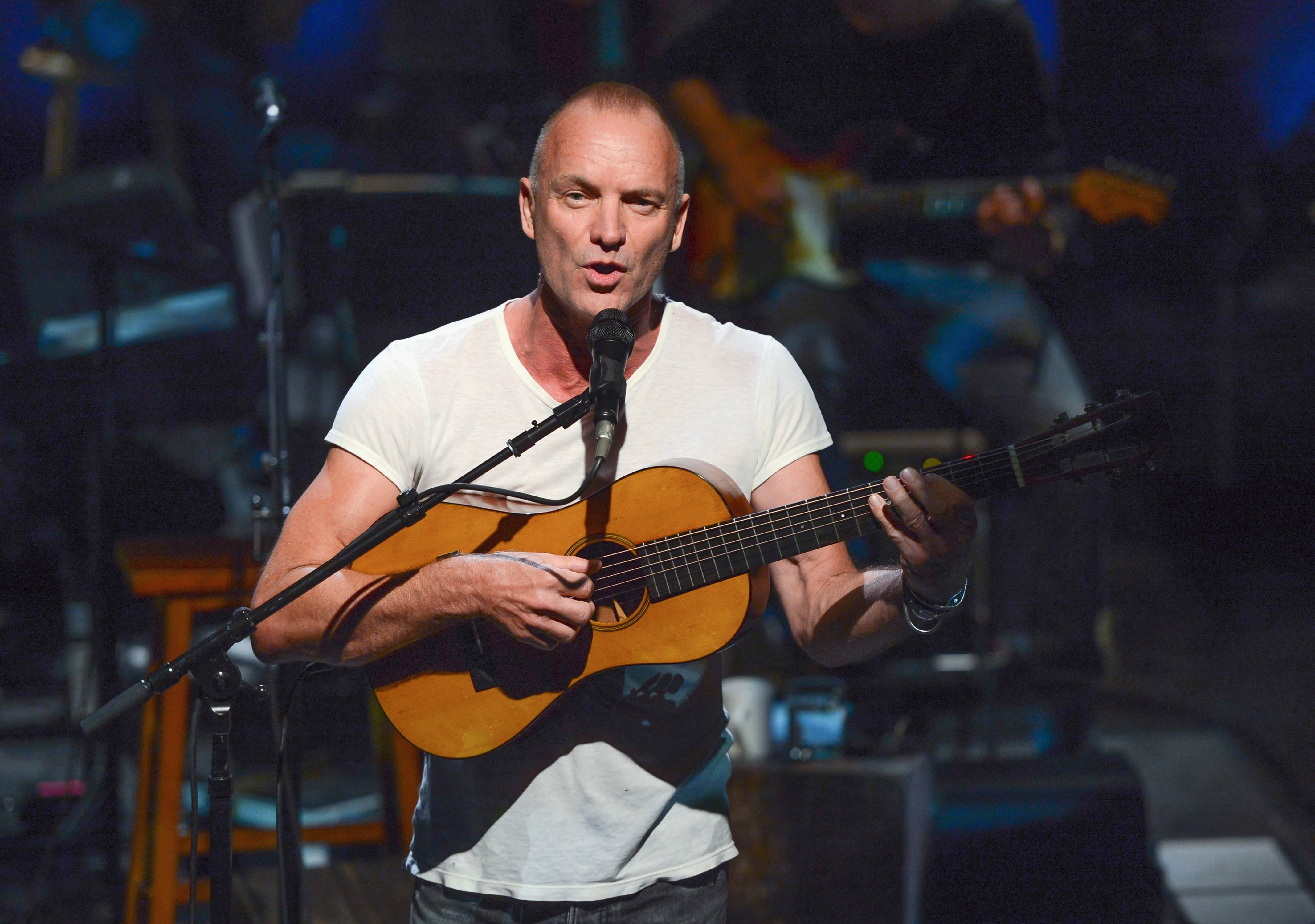 "Sting performed ""An Evening With Sting: The Last Ship"" in 2013 at The Public Theater in New York. The concert was later broadcast on PBS-TV."
