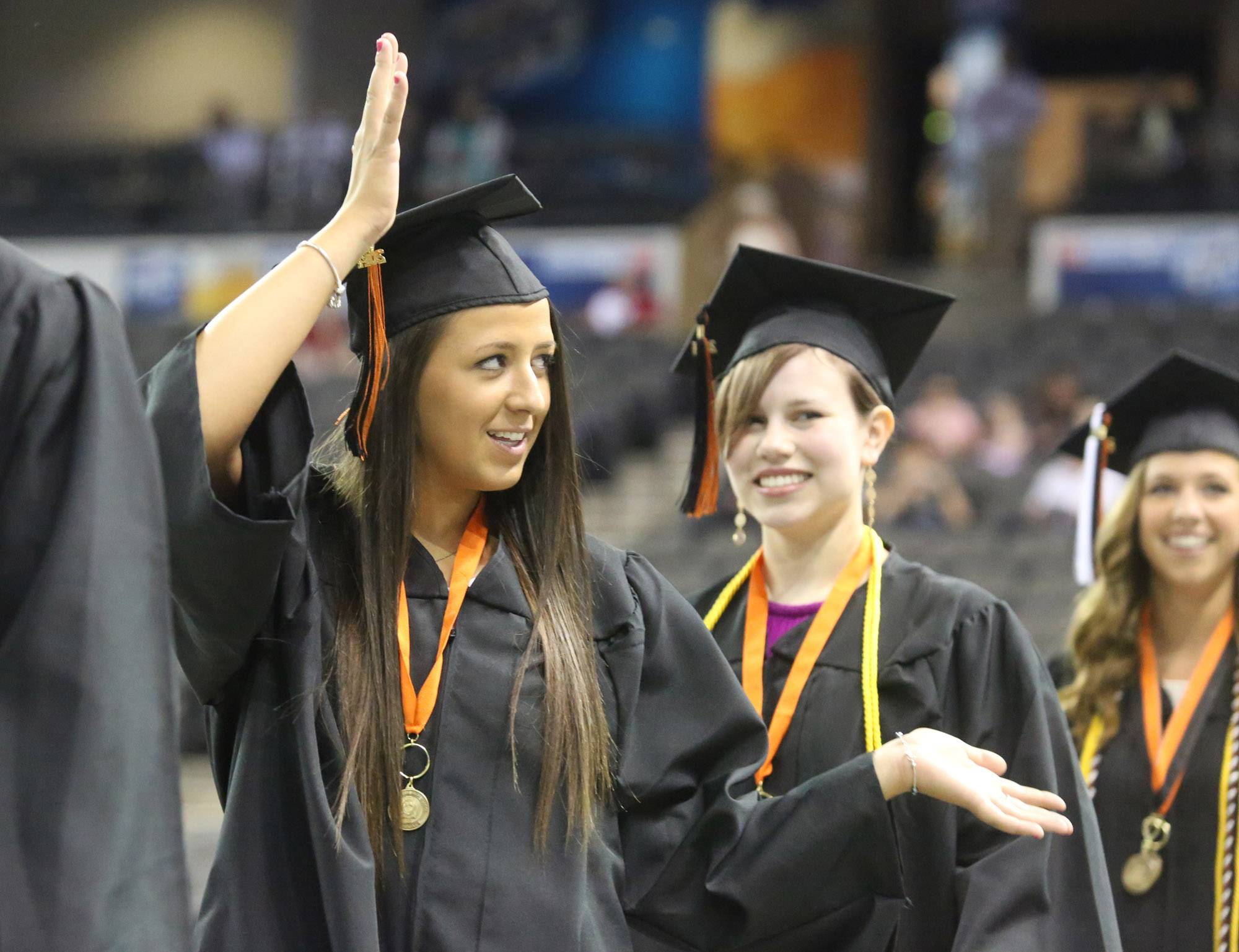 Images from the Libertyville High School graduation on Friday, June 6 at the Sears Centre in Hoffman Estates.