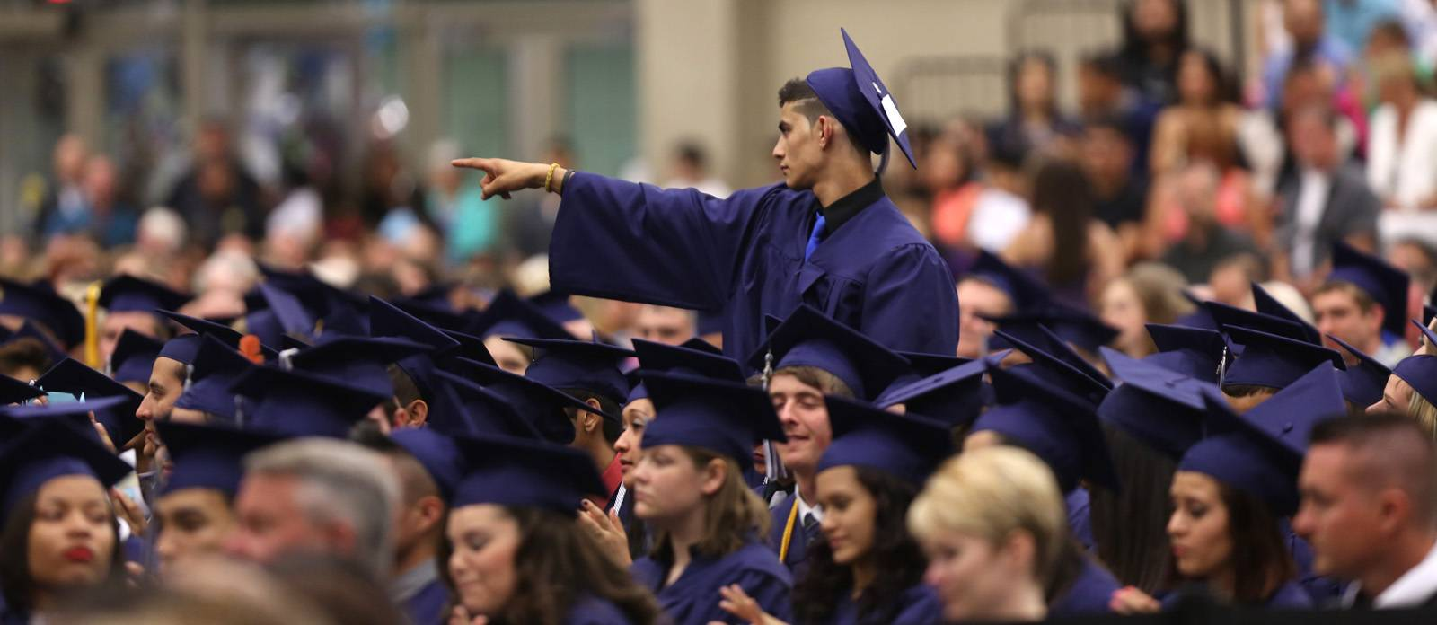 Community High School of West Chicago held its graduation Friday, June 6 at the College of DuPage in Glen Ellyn.