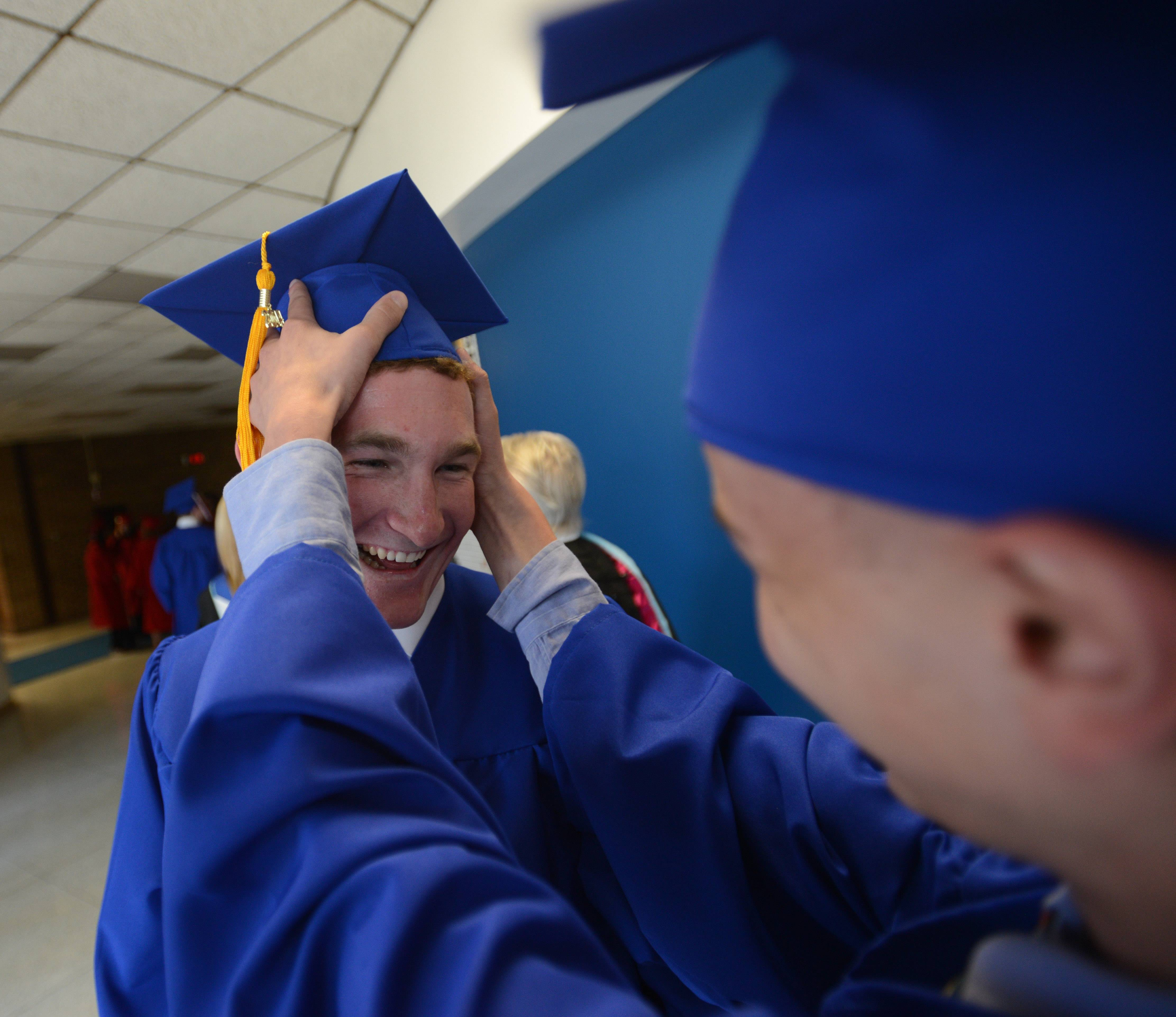 Glenbard South High School held its graduation Friday, June 6 in the school's gym.