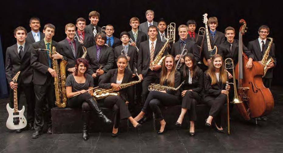 Wheeling High School Jazz Band 1 is Europe-bound, where they will play at several music festivals this summer.