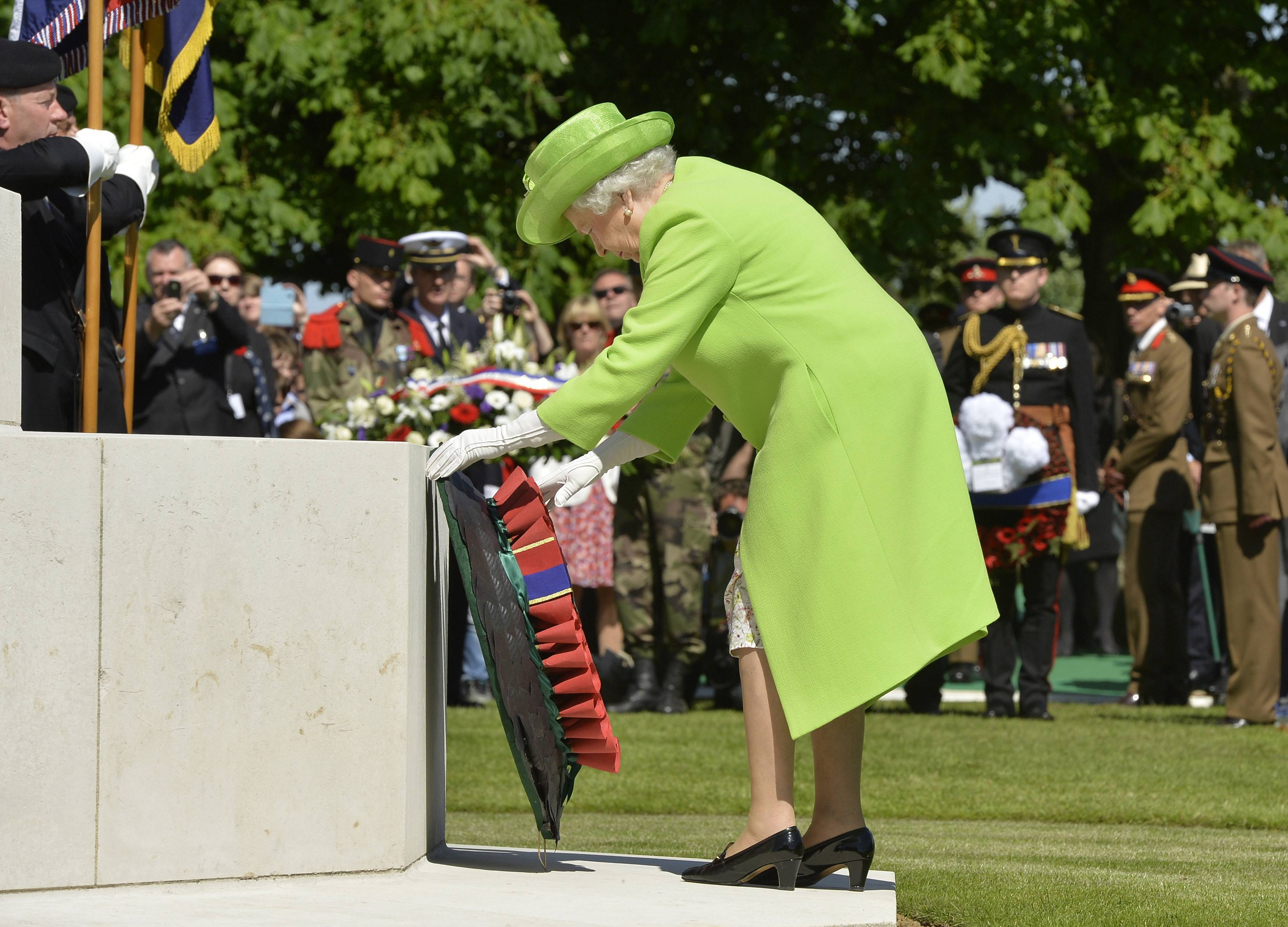 Though Queen Elizabeth II has cut back on making foreign trips, the 88-year-old British monarch traveled to France for the 70th anniversary of the D-Day landings in Normandy. And it's little wonder: she lived and lost through World War II and it marked her life more than many.