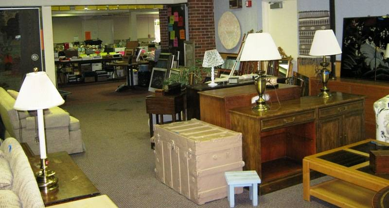 The First Presbyterian Rummage sale will have many treasure-filled departments, including furniture.
