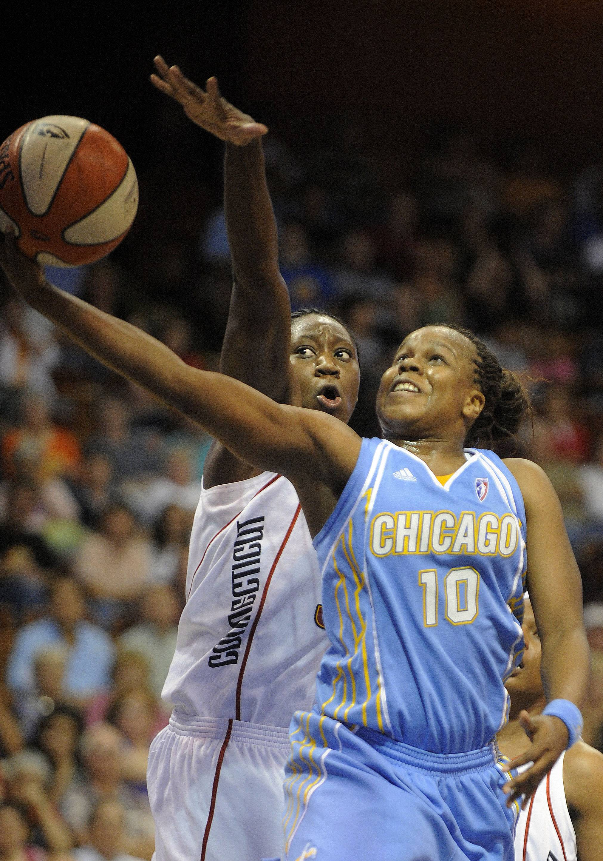 Epiphanny Prince has returned to the Sky after taking some time away from basketball because of mental exhaustion, but she is not quite ready to begin playing.