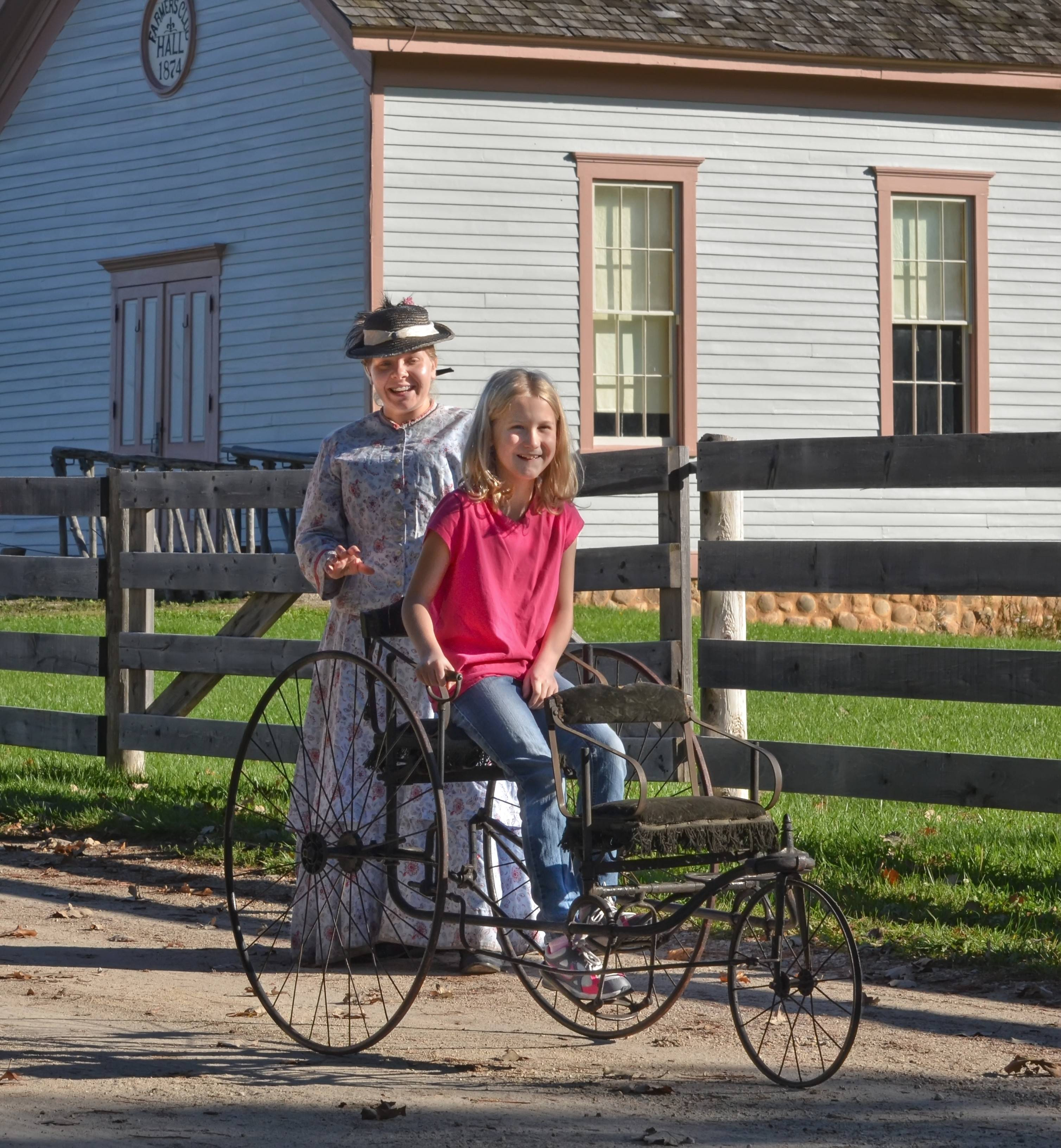The new Catch Wheel Fever! Experience opens Saturday, June 14, at Old World Wisconsin in Eagle, Wisconsin.