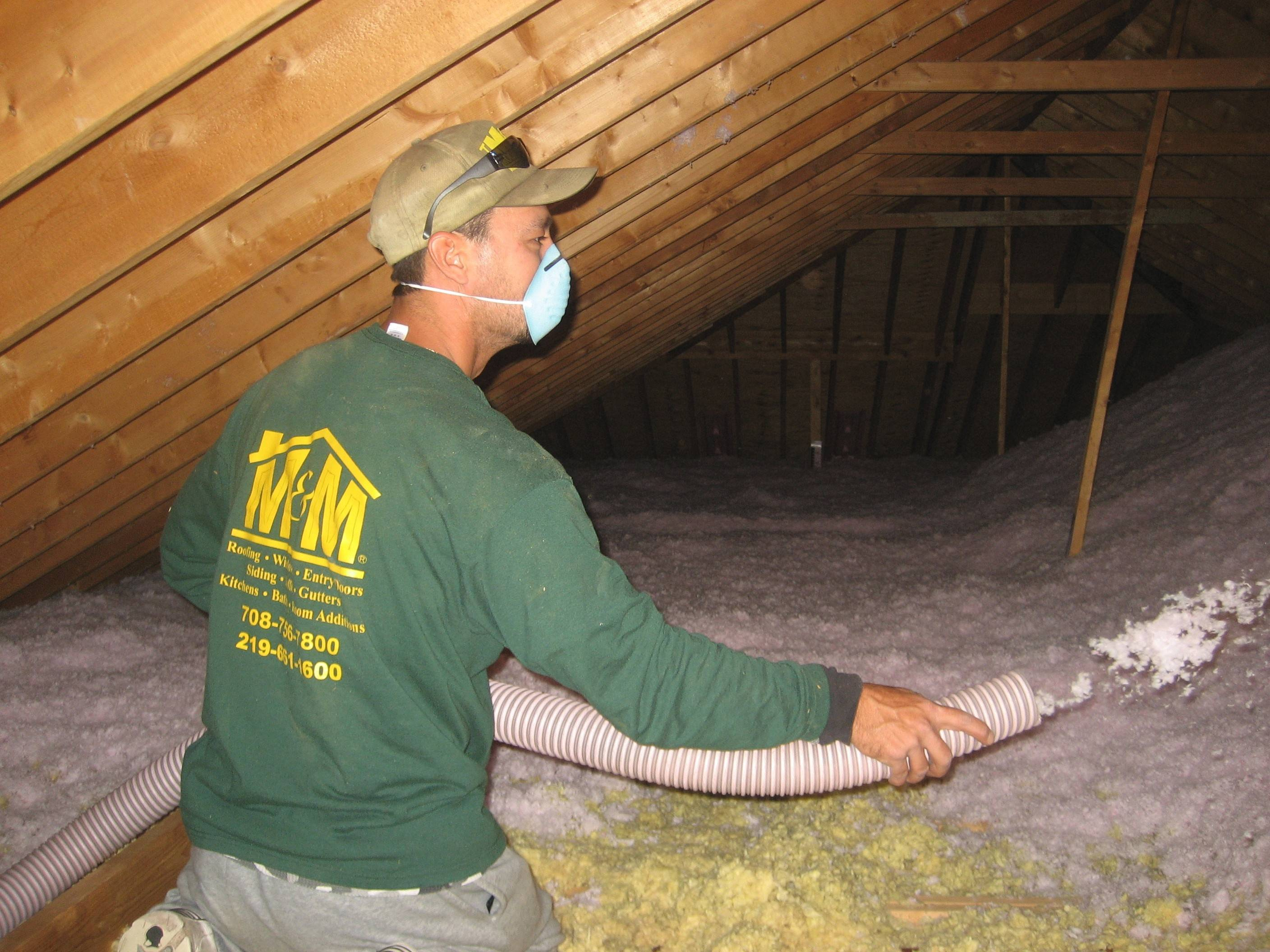 Adding insulation to the attic is one of the wisest investments a homeowner can make.