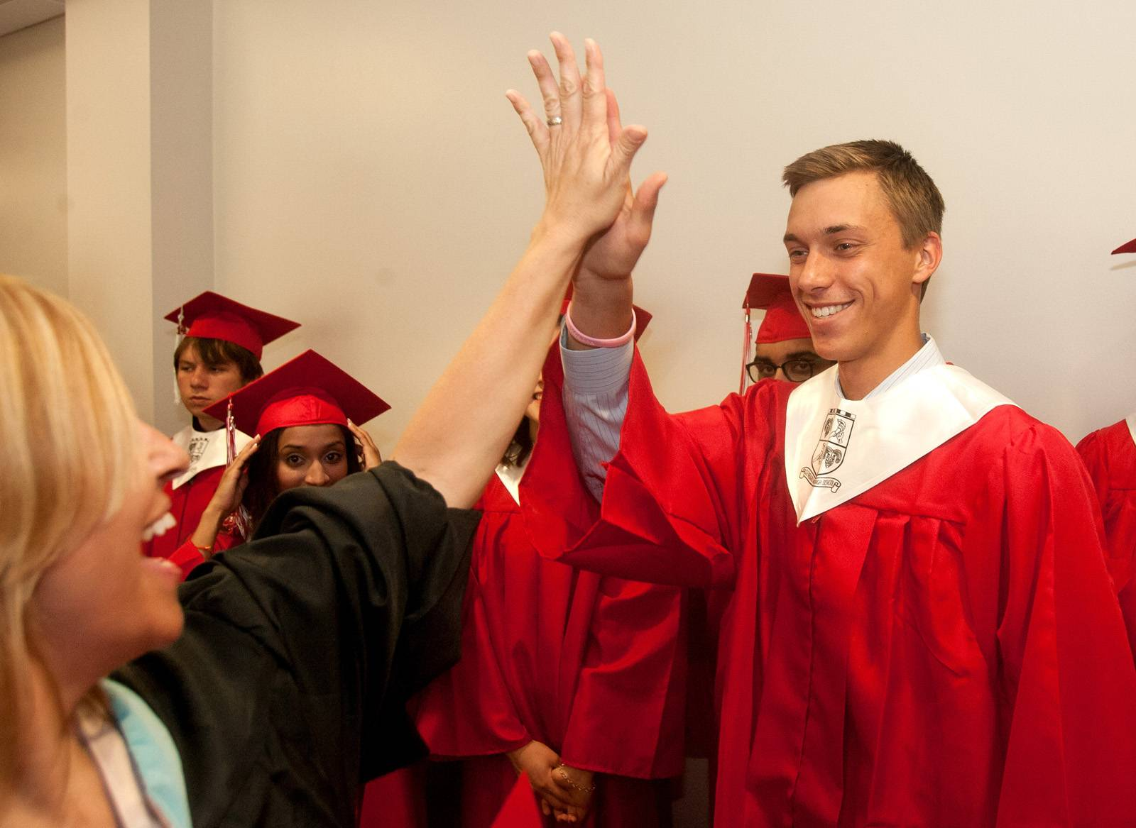 Glenbard East High School held its graduation Saturday, June 7 at the College of DuPage in Glen Ellyn.