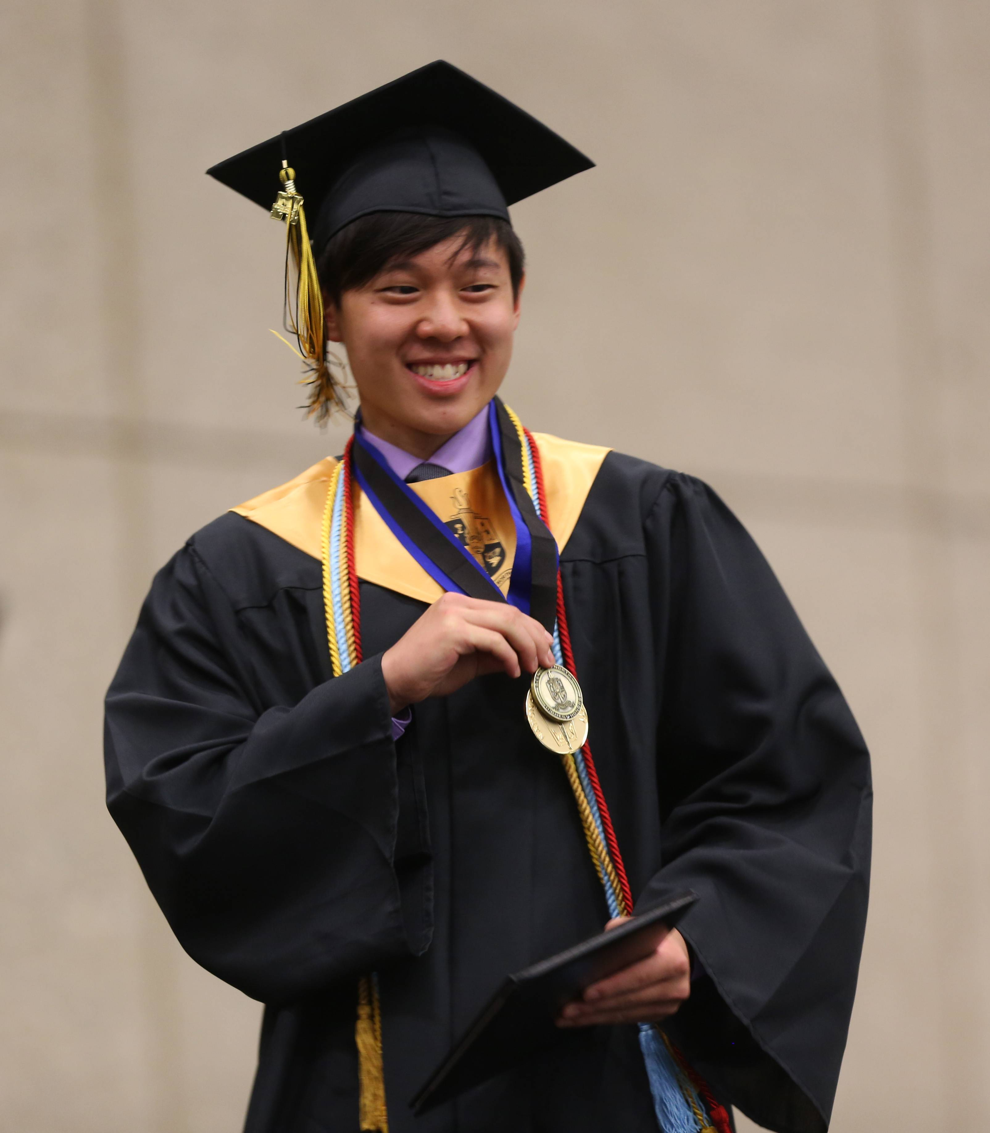 Glenbard North High School held its graduation Saturday, June 7 at the College of DuPage in Glen Ellyn.