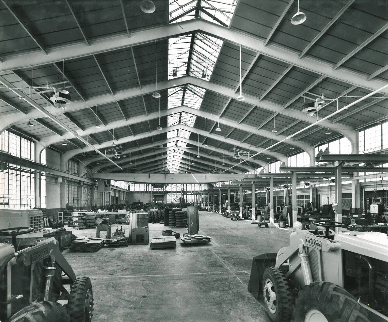 The assembly department at Frank G. Hough Co. is shown in this historic photo by Carl Ullrich.