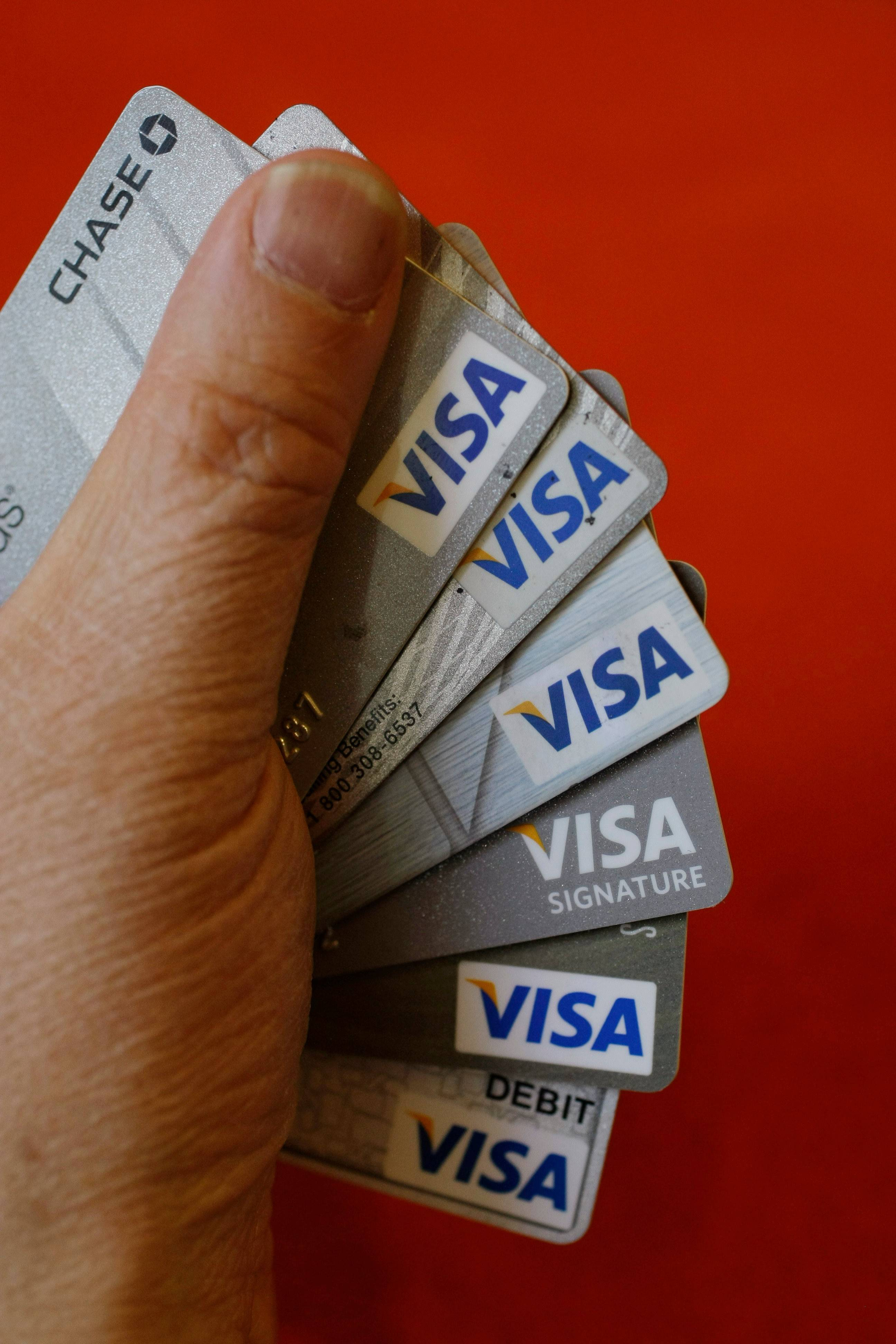 Visa said it will put labels on packages of cards that meet a new set of standards it unveiled Tuesday.