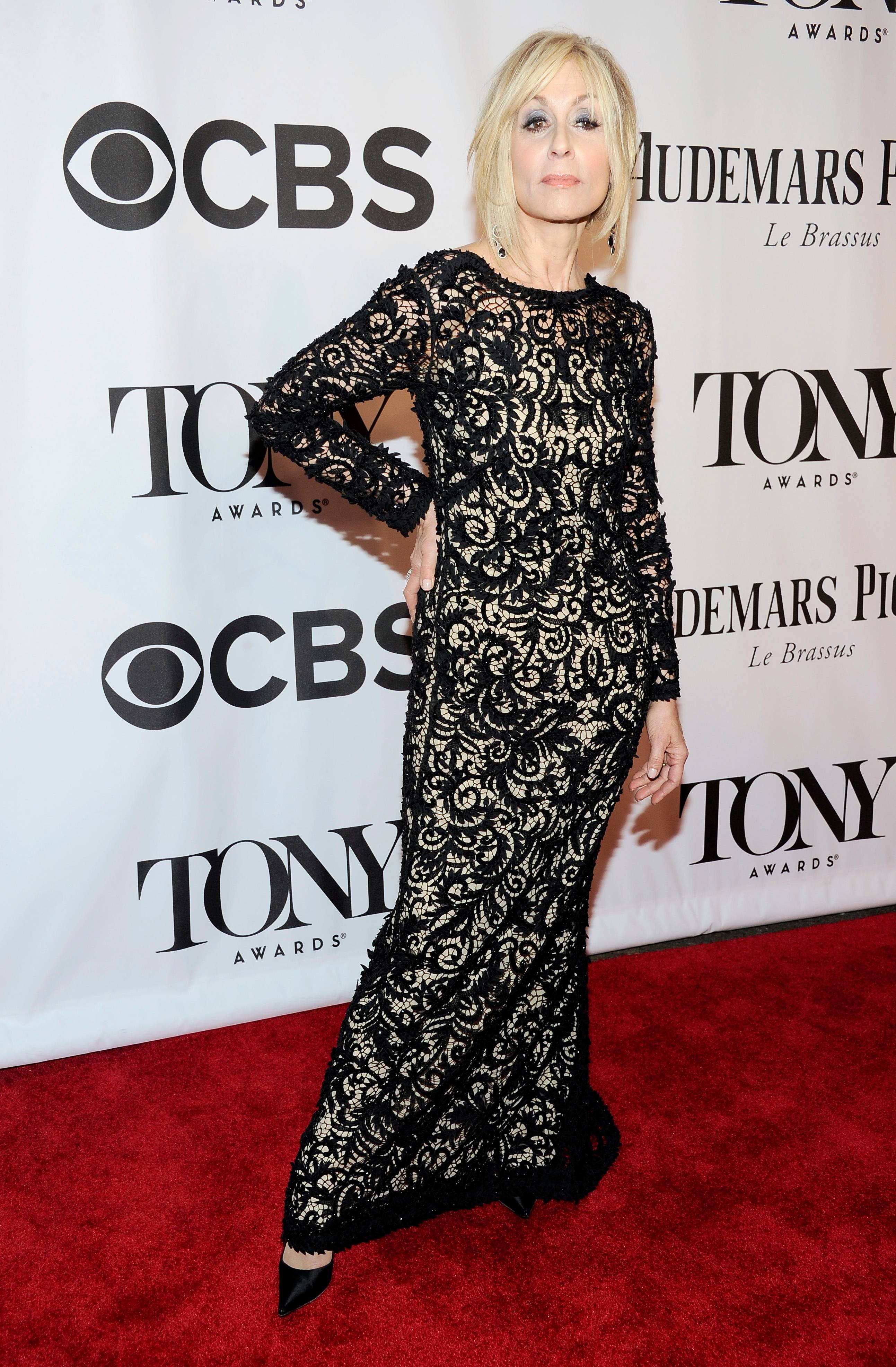 Judith Light arrives at the 68th annual Tony Awards at Radio City Music Hall on Sunday.