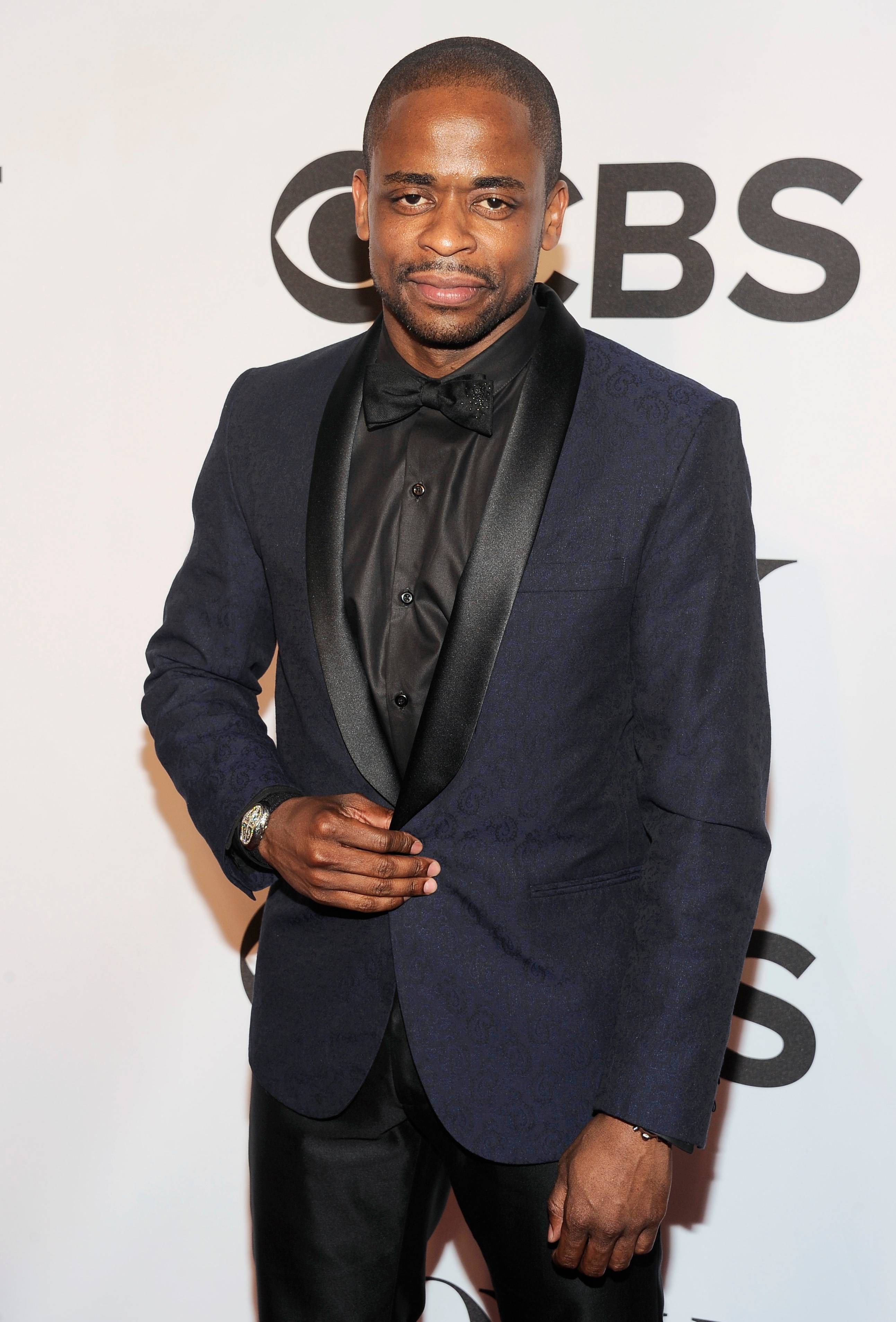 """After Midnight"" star Dule Hill arrives at the 68th annual Tony Awards at Radio City Music Hall on Sunday."