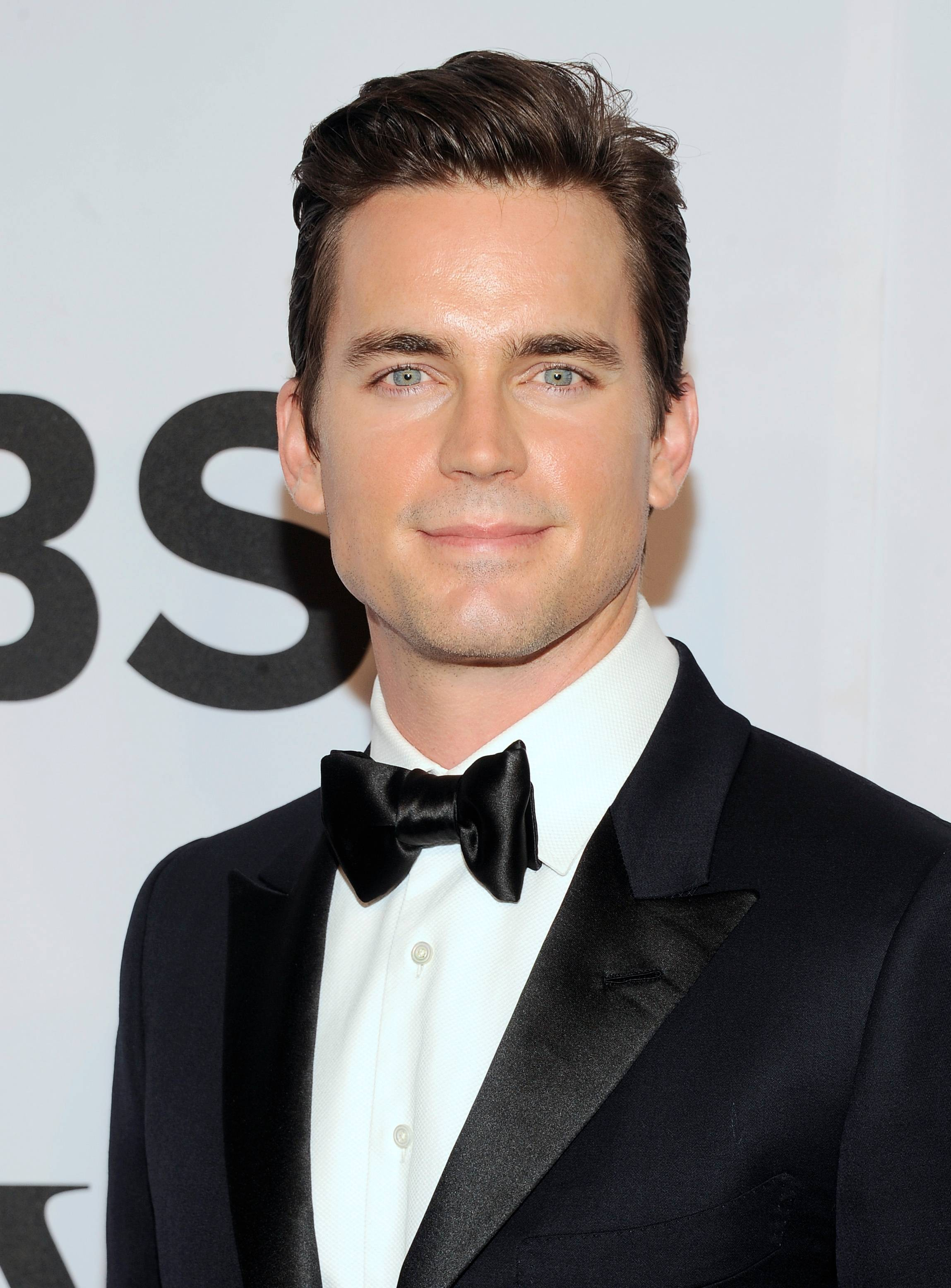 Matt Bomer arrives at the 68th annual Tony Awards at Radio City Music Hall on Sunday.