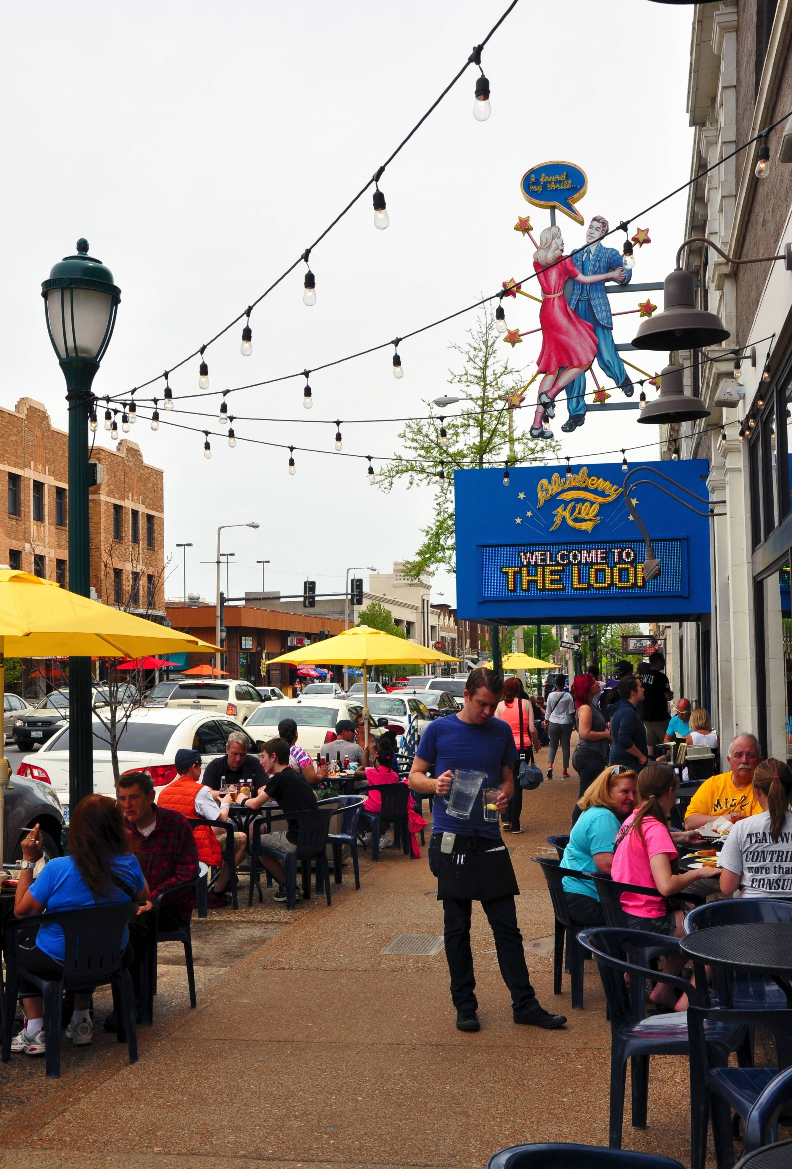 The opening of Blueberry Hill restaurant and music club sparked a revival of the Delmar Loop neighborhood.