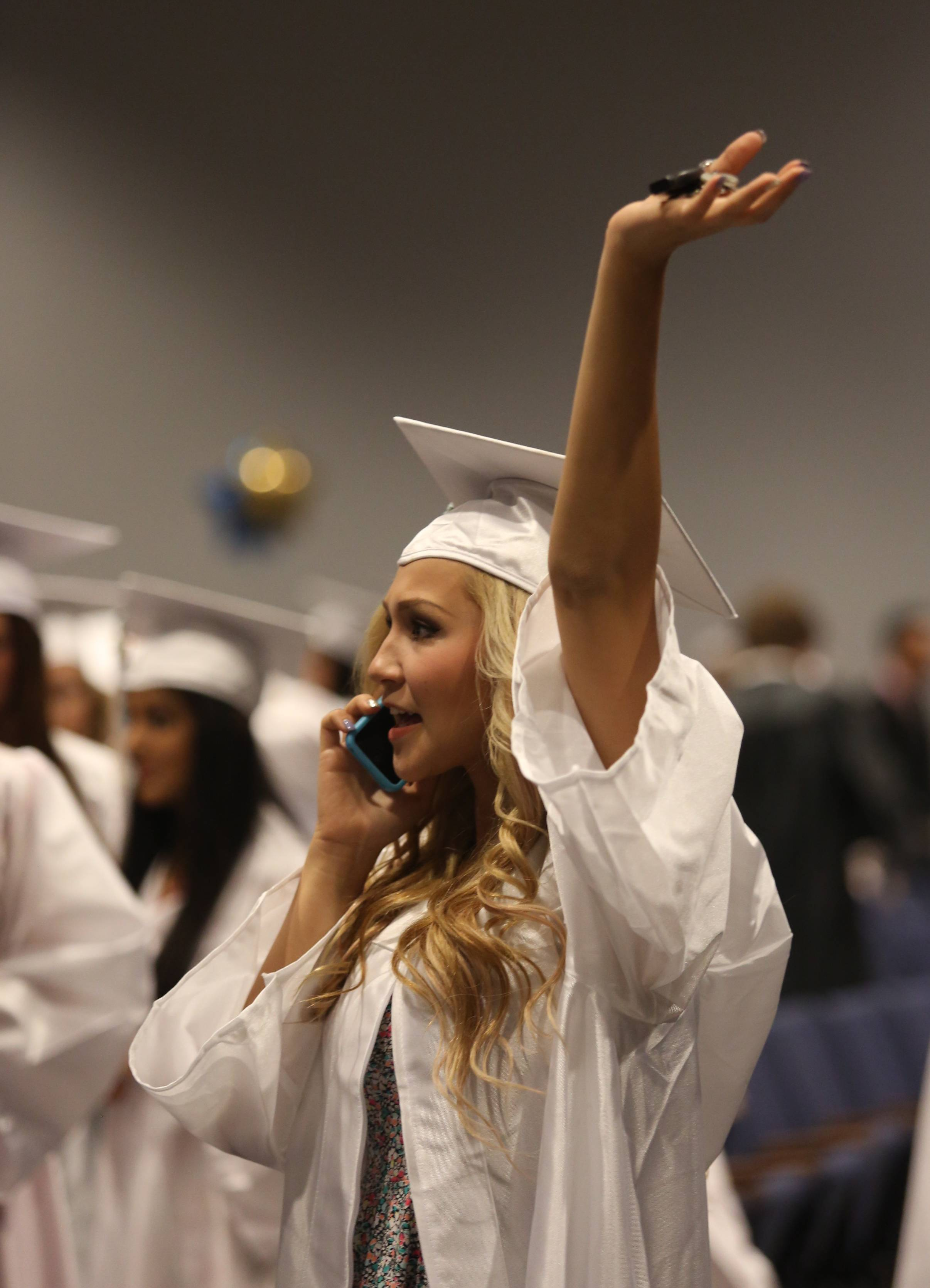 Photos from the Maine West High School graduation on Sunday, June 8th, at the school.