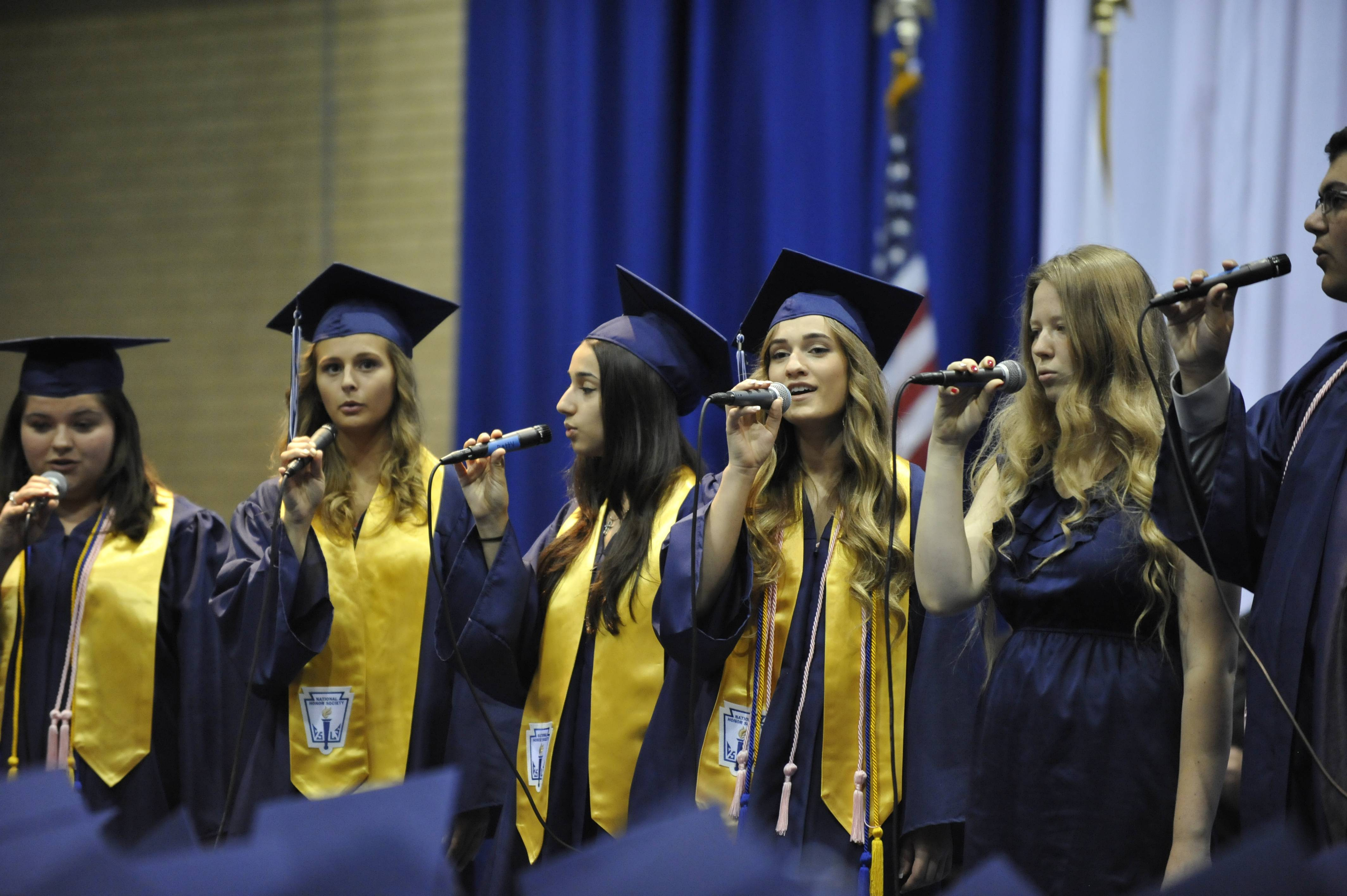 Addison Trail High School held its graduation Sunday, June 8 at the school in Addison.