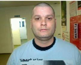 Yves Denis is shown in this police handout photo. Quebec Provincial Police say three inmates have escaped lete Saturday from the Orsainville Detention Centre in Quebec City with the help of a green coloured helicopter.