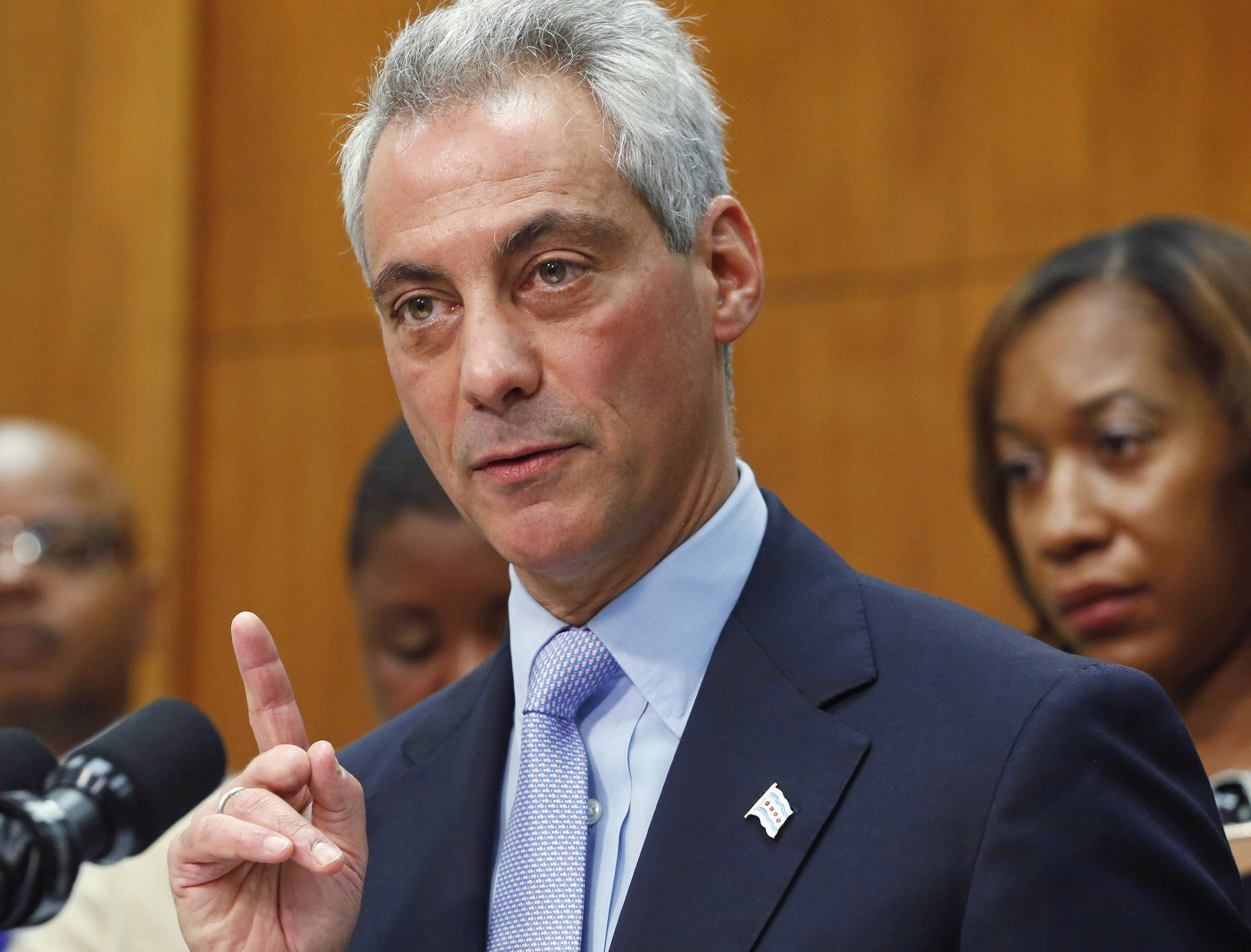 Chicago Mayor Rahm Emanuel pushed for pension reform.