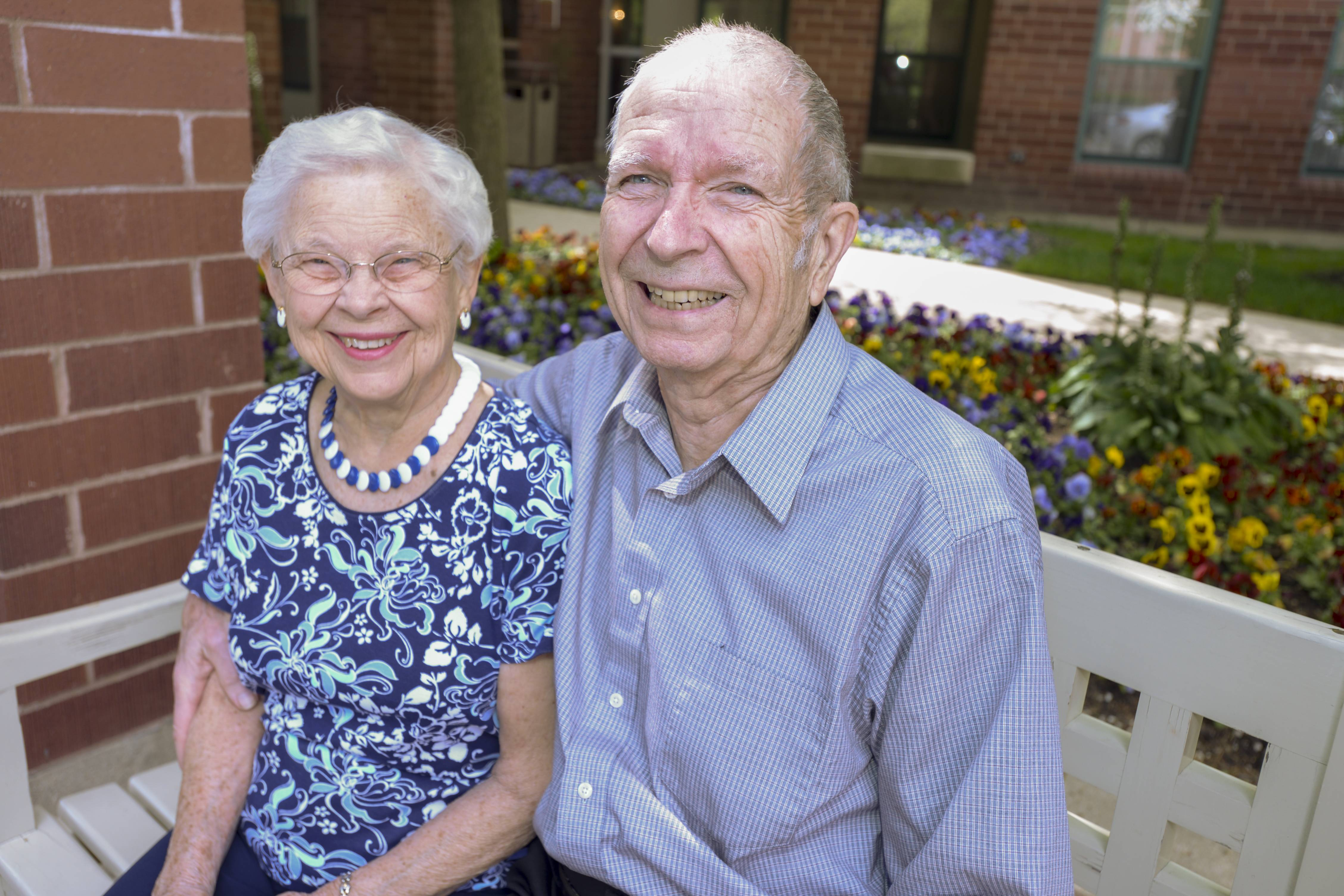 Managing time differently was an adjustment Don Fischer made in retirement. he and his wife Lois stay active by chairing a hospital committee at the Wyndemere senior living community in Wheaton.